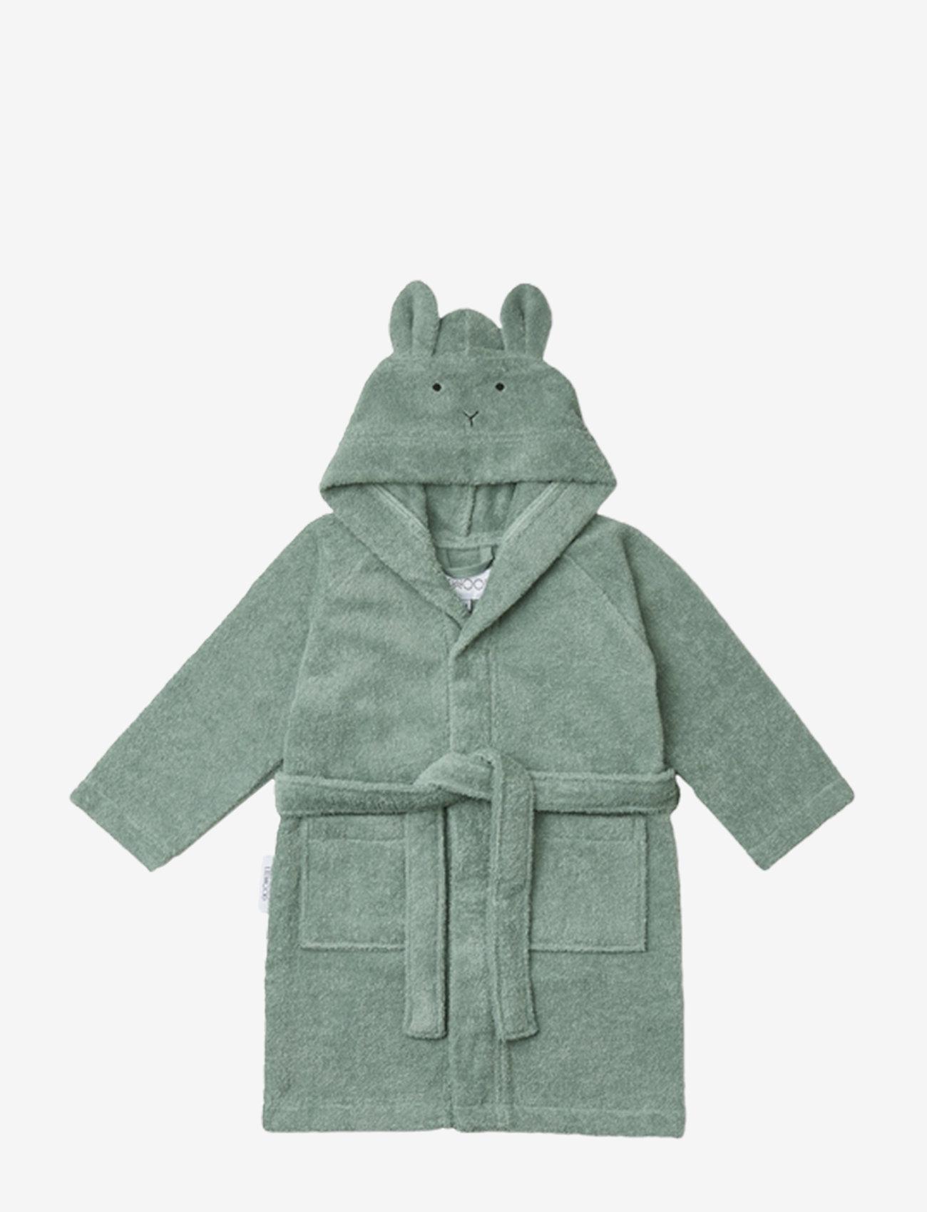 Liewood - Lily bathrobe - szlafroki - rabbit peppermint - 0