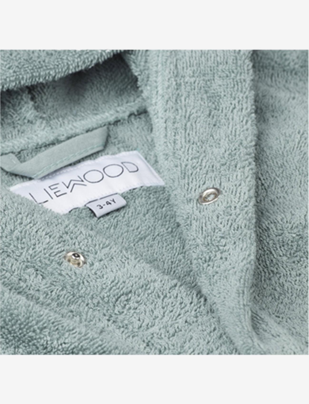 Liewood - Lily bathrobe - szlafroki - rabbit peppermint - 1