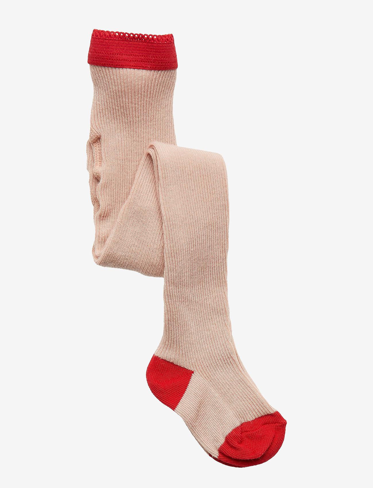 Liewood - Linea stockings - rajstopy - rose - 0