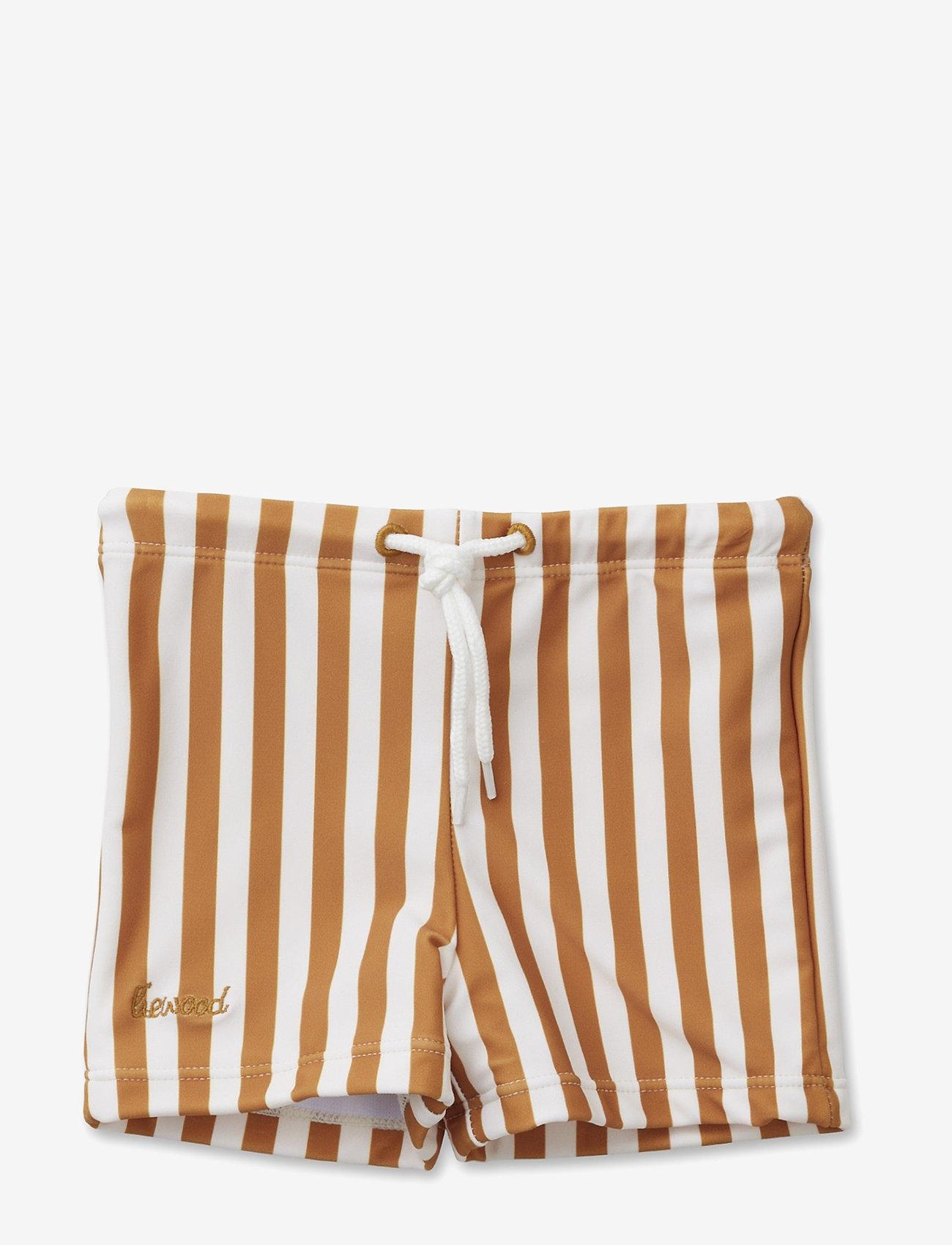 Liewood - Otto swim pants - badehosen - stripe - 1