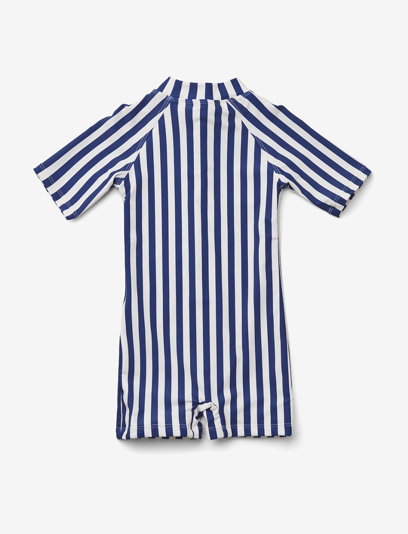 Liewood - Max Swim jumpsuit - uv-clothing - stripe - 1