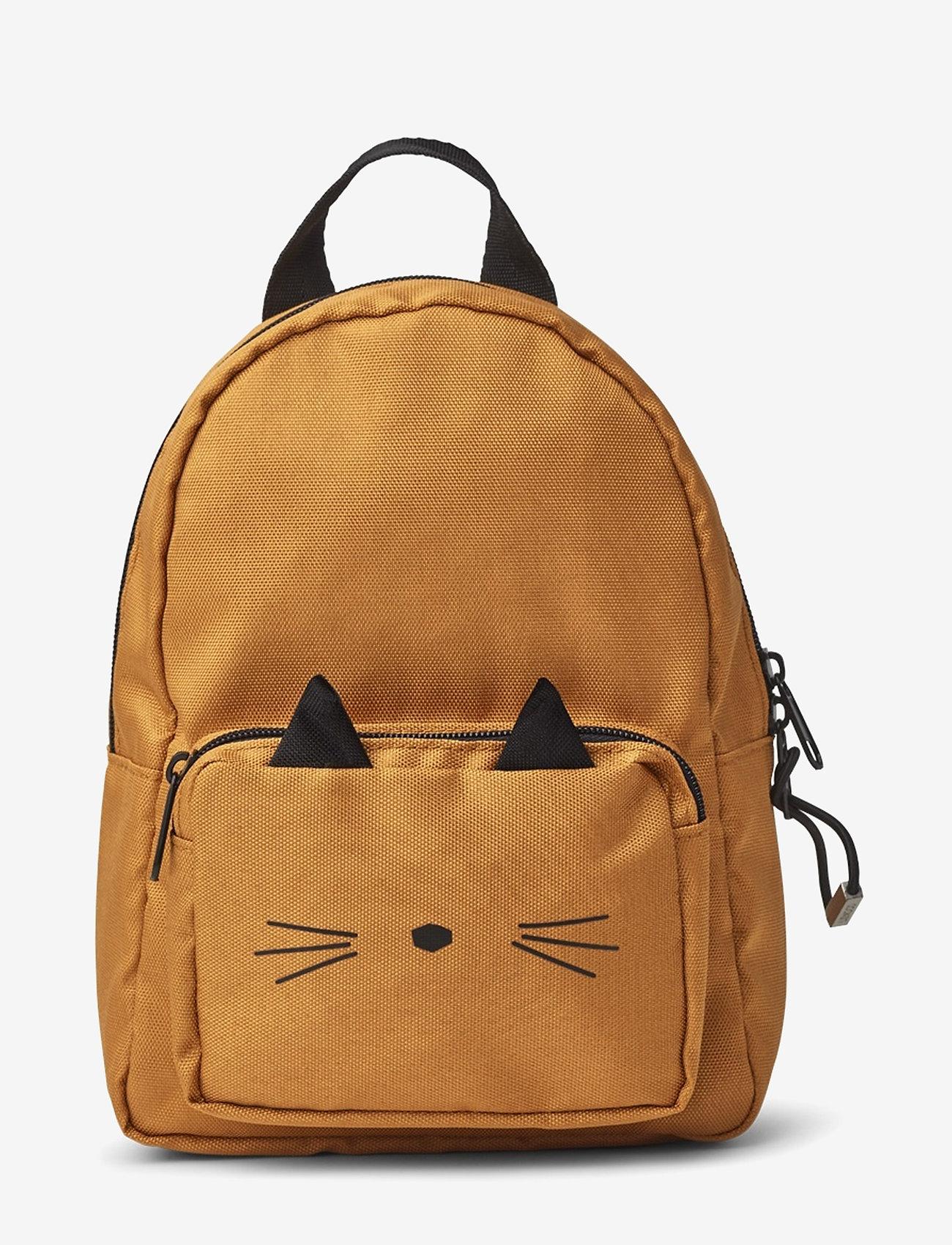 Liewood - Saxo mini backpack - plecaki - cat mustard - 0