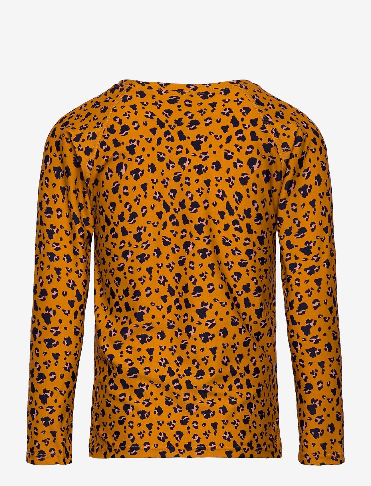 Liewood - Noah swim tee - koszulki - mini leo/mustard - 1