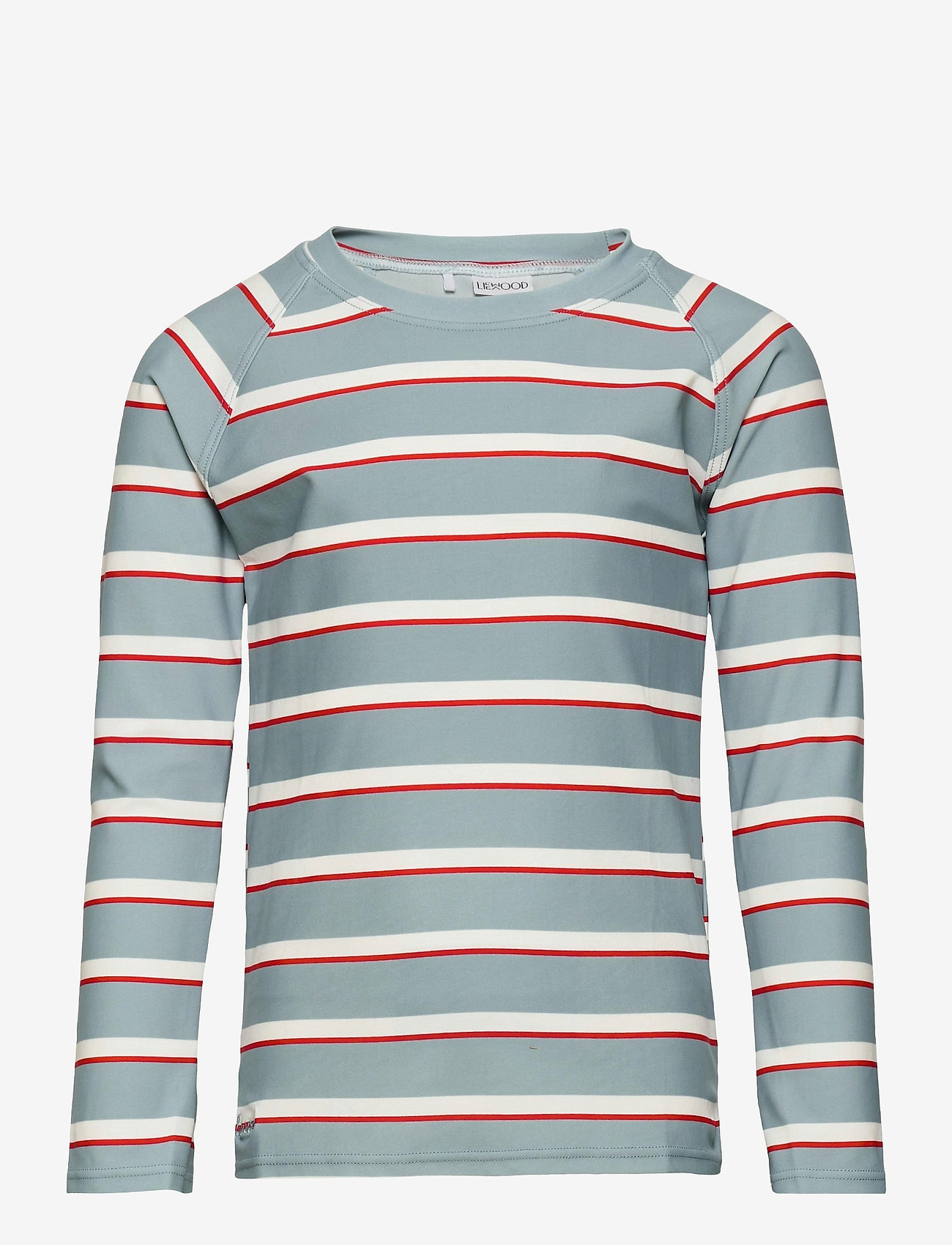 Liewood - Noah swim tee - koszulki - stripe - 0
