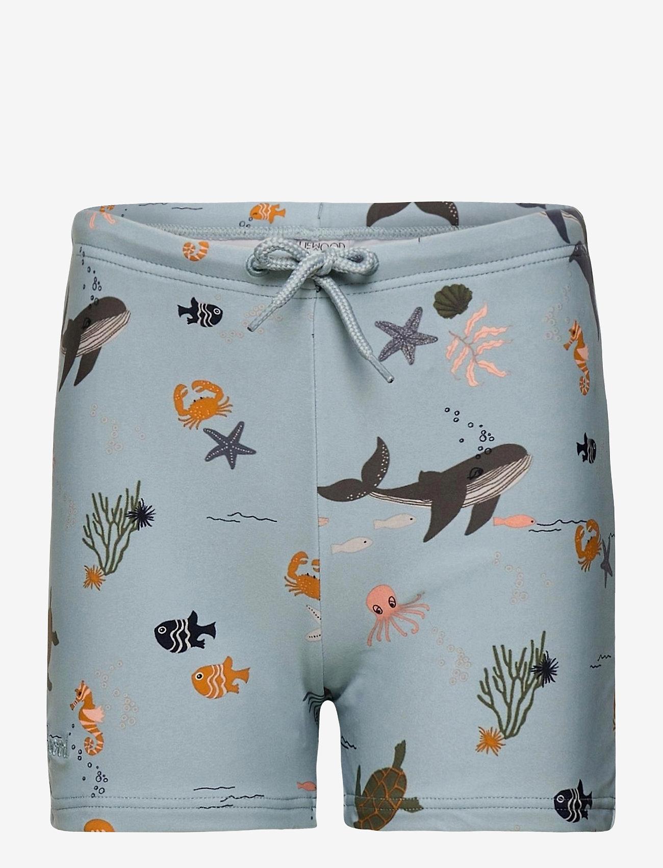 Liewood - Otto swim pants - spodenki - sea creature mix - 0