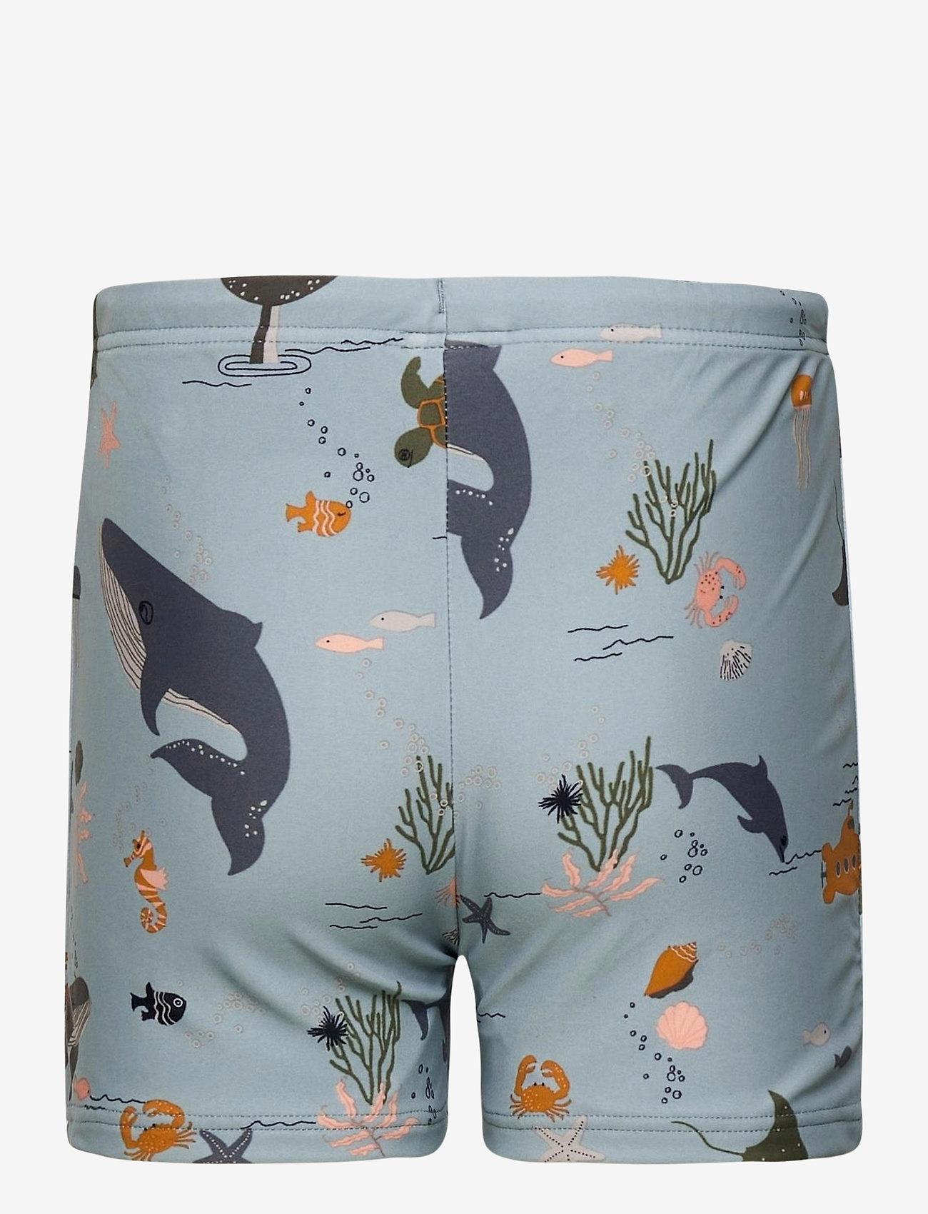 Liewood - Otto swim pants - spodenki - sea creature mix - 1