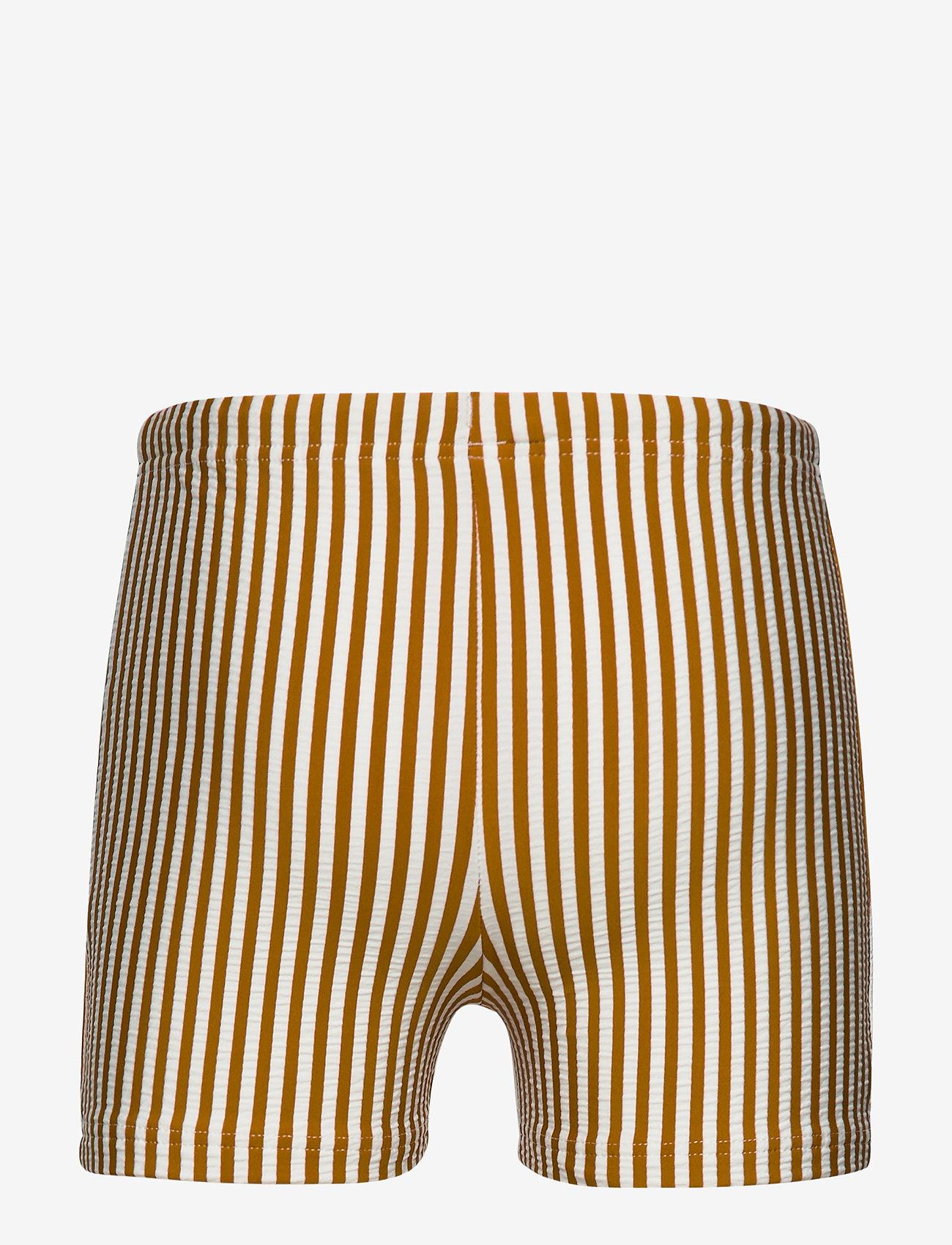 Liewood - Otto swim pants seersucker - badehosen - y/d stripe - 1