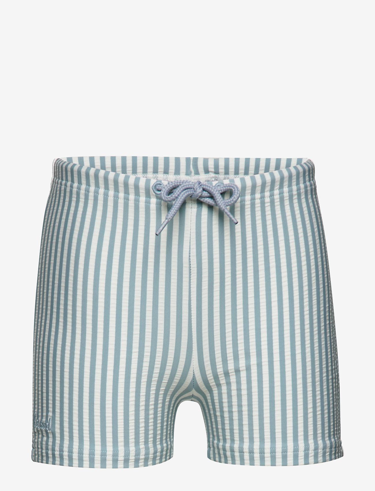 Liewood - Otto swim pants seersucker - badehosen - y/d stripe - 0