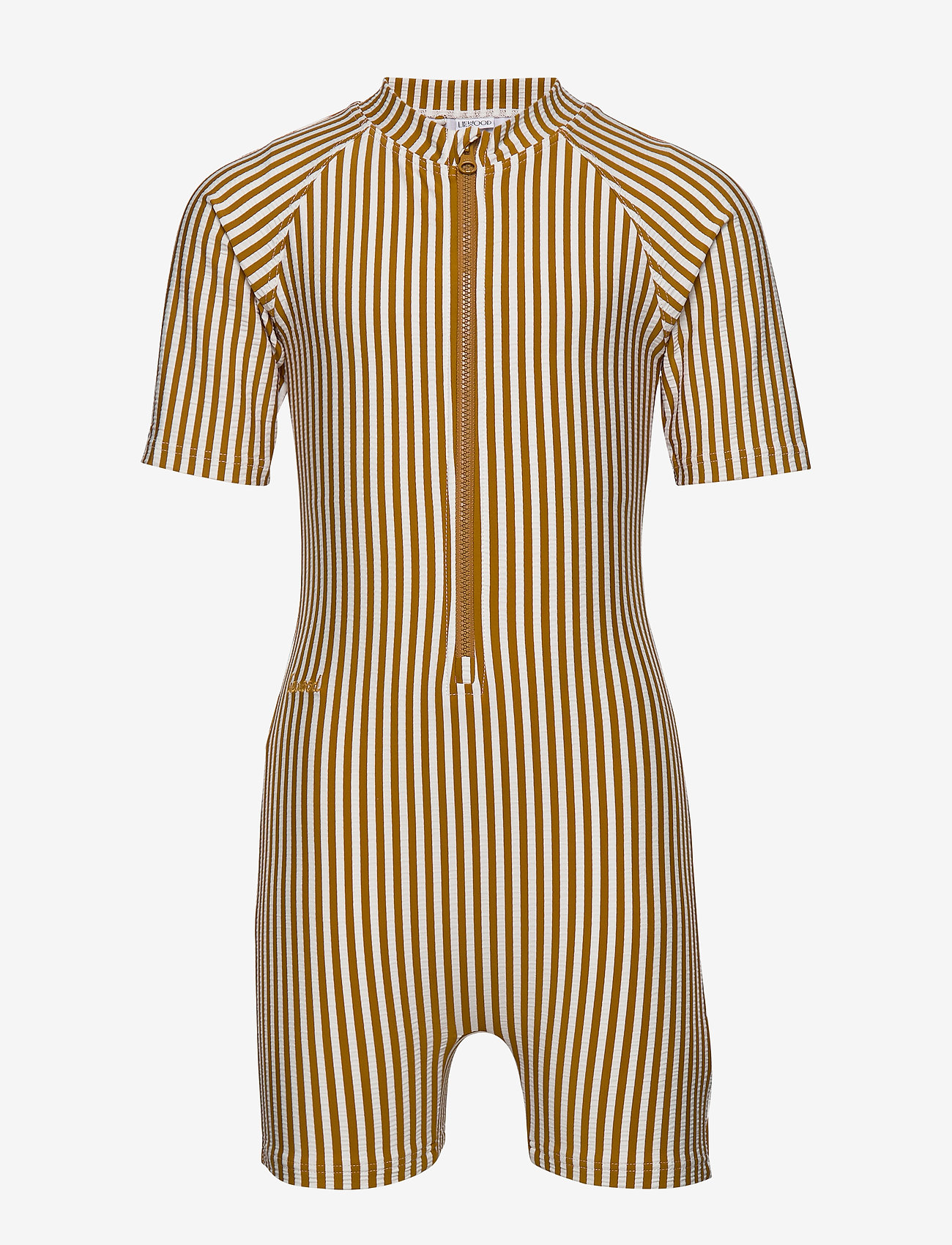 Liewood - Max Swim jumpsuit seersucker - stroje kąpielowe uv - y/d stripe - 0
