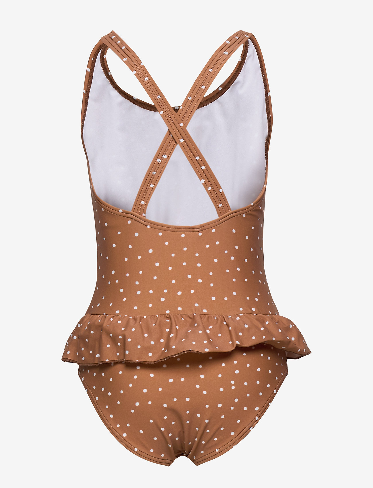 Liewood - Amara swimsuit - swimsuits - confetti terracotta - 1