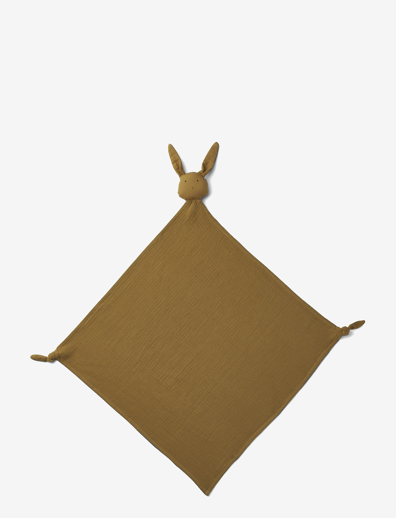 Liewood - Robbie multi muslin cloth - cuddle blankets - rabbit olive green - 0