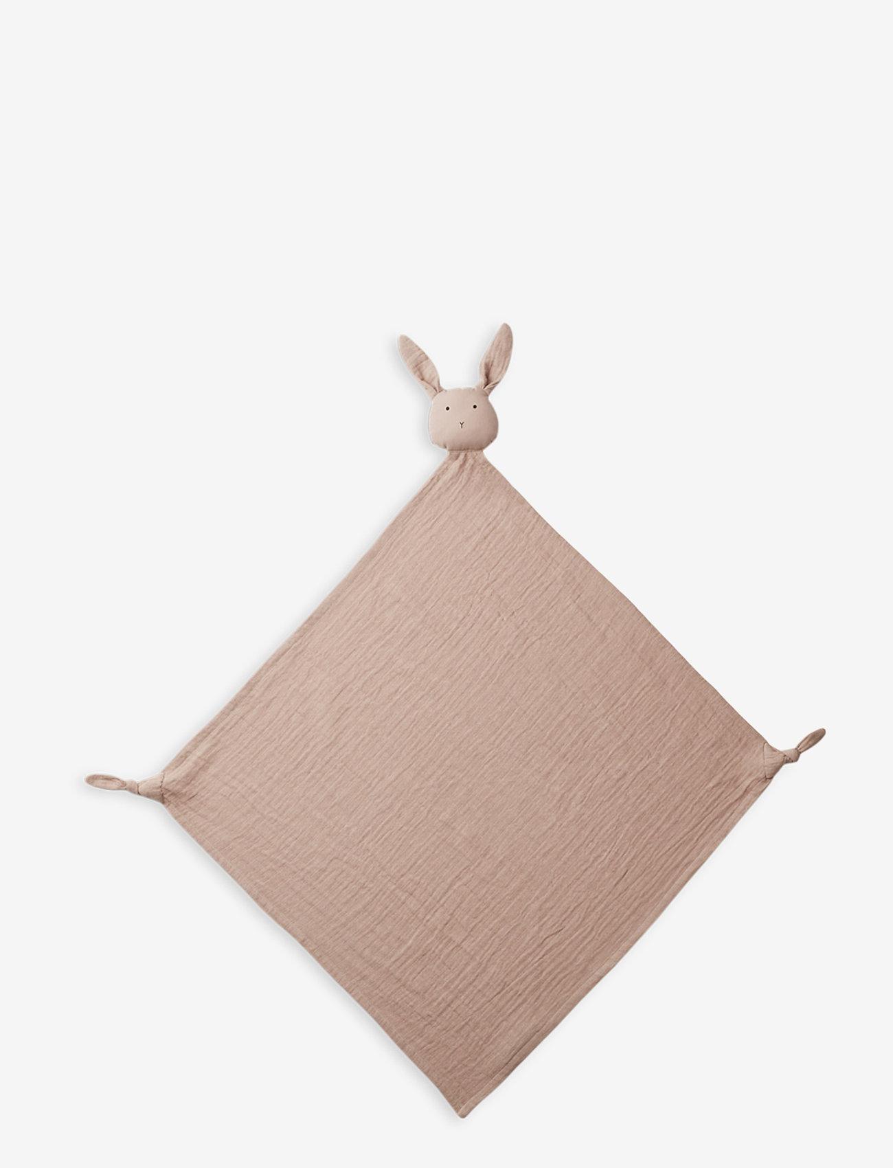 Liewood - Robbie multi muslin cloth - cuddle blankets - rabbit rose - 0