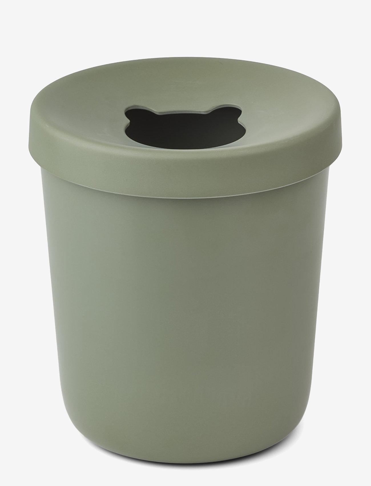 Liewood - Evelina trash bin - przechowywanie - faune green - 0