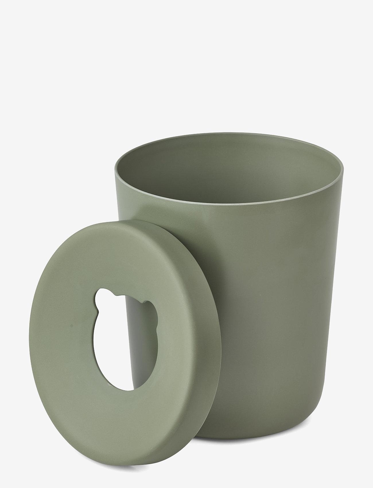 Liewood - Evelina trash bin - przechowywanie - faune green - 1