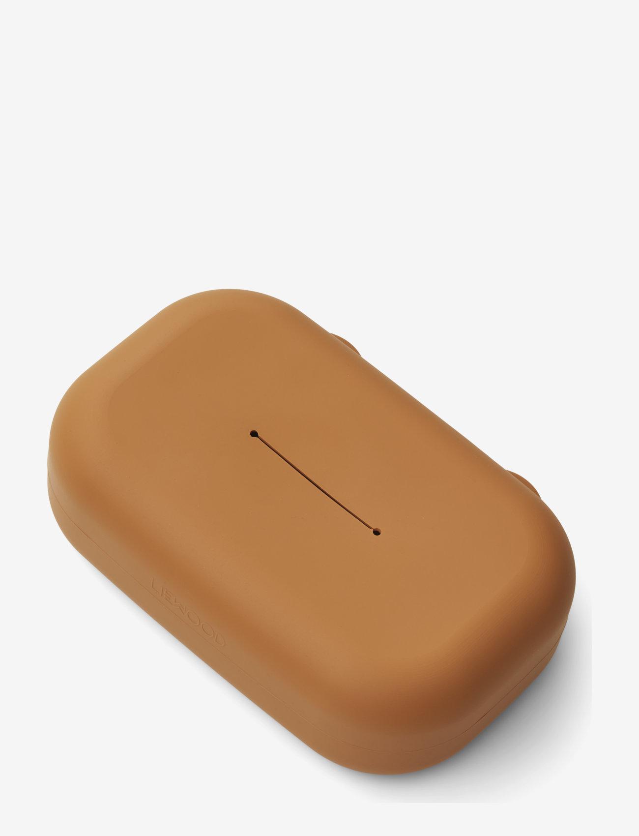 Liewood - Emi wet wipes cover - pojemnik na mokre chusteczki - mustard - 0