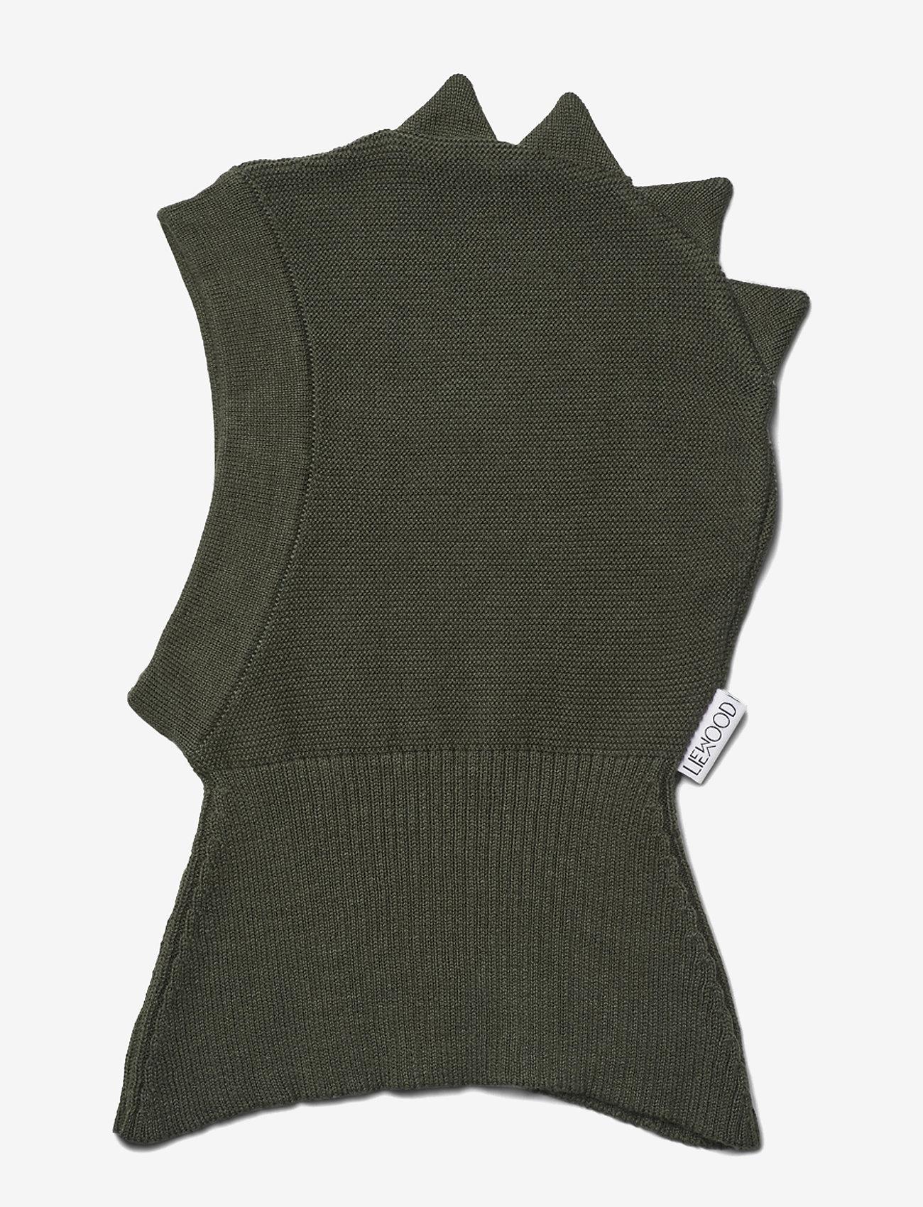Liewood - Mads knit hat - huer & kasketter - dino hunter green - 0