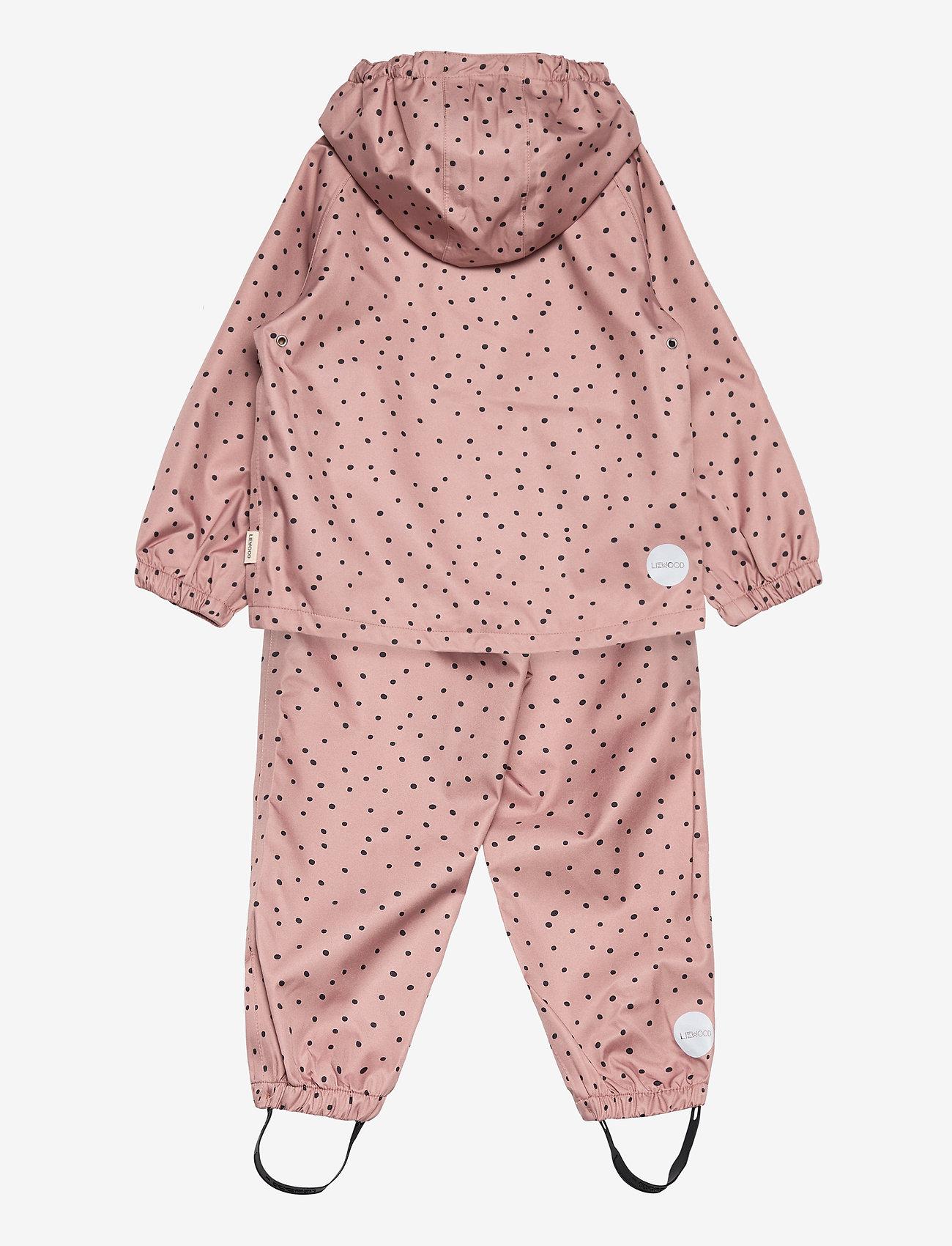 Liewood - Parker rainwear - ensembles - confetti rose - 1