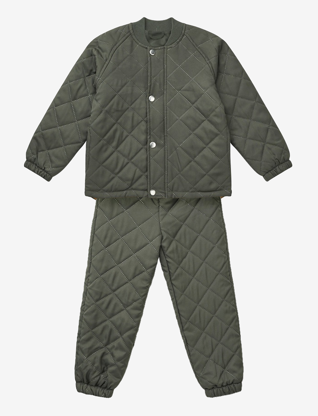 Liewood - Luna thermo set - overall - hunter green - 1