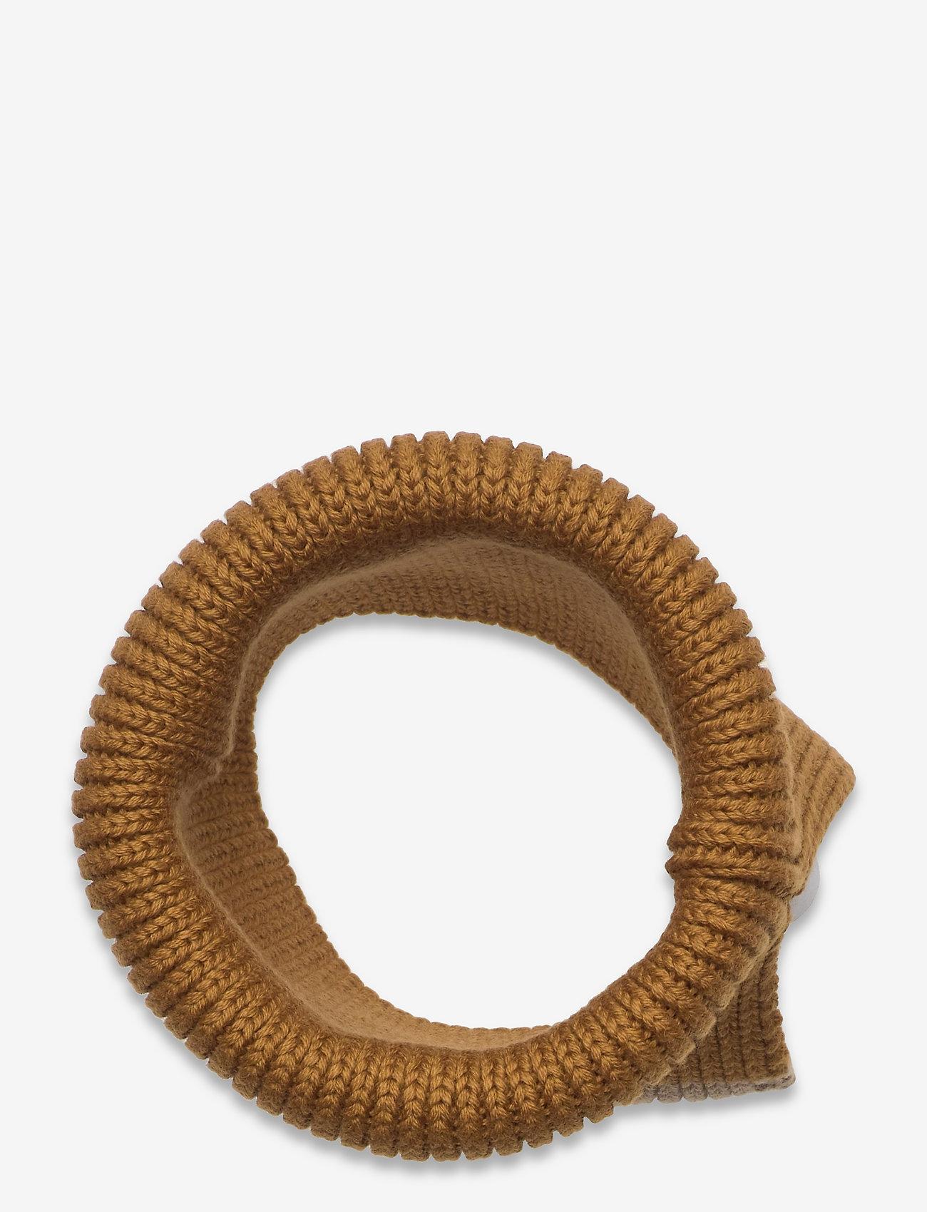 Liewood - Mathias neck warmer - accessoires - golden caramel oat mix - 1