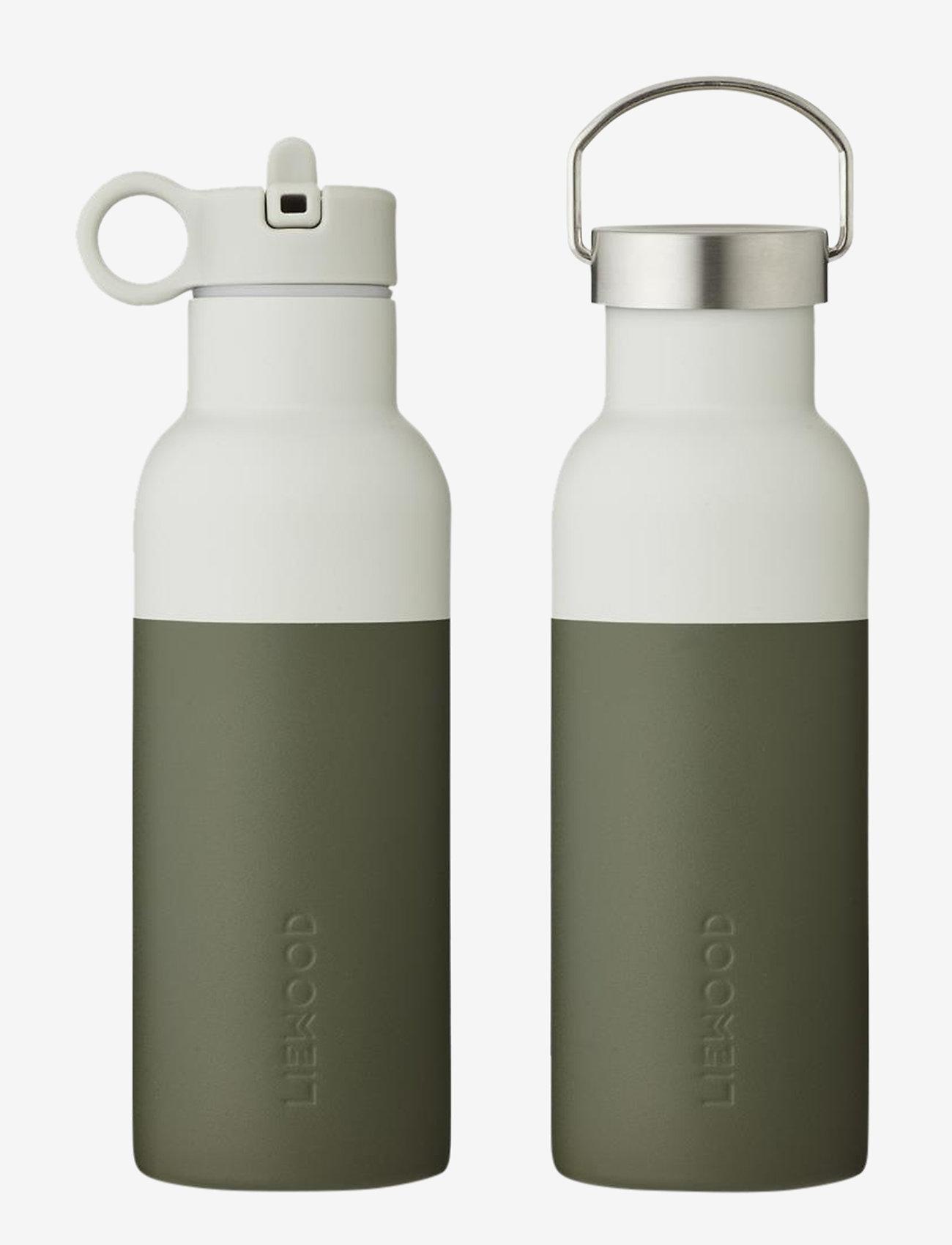 Liewood - Neo water bottle - butelki i termosy - hunter green/dove blue mix - 0