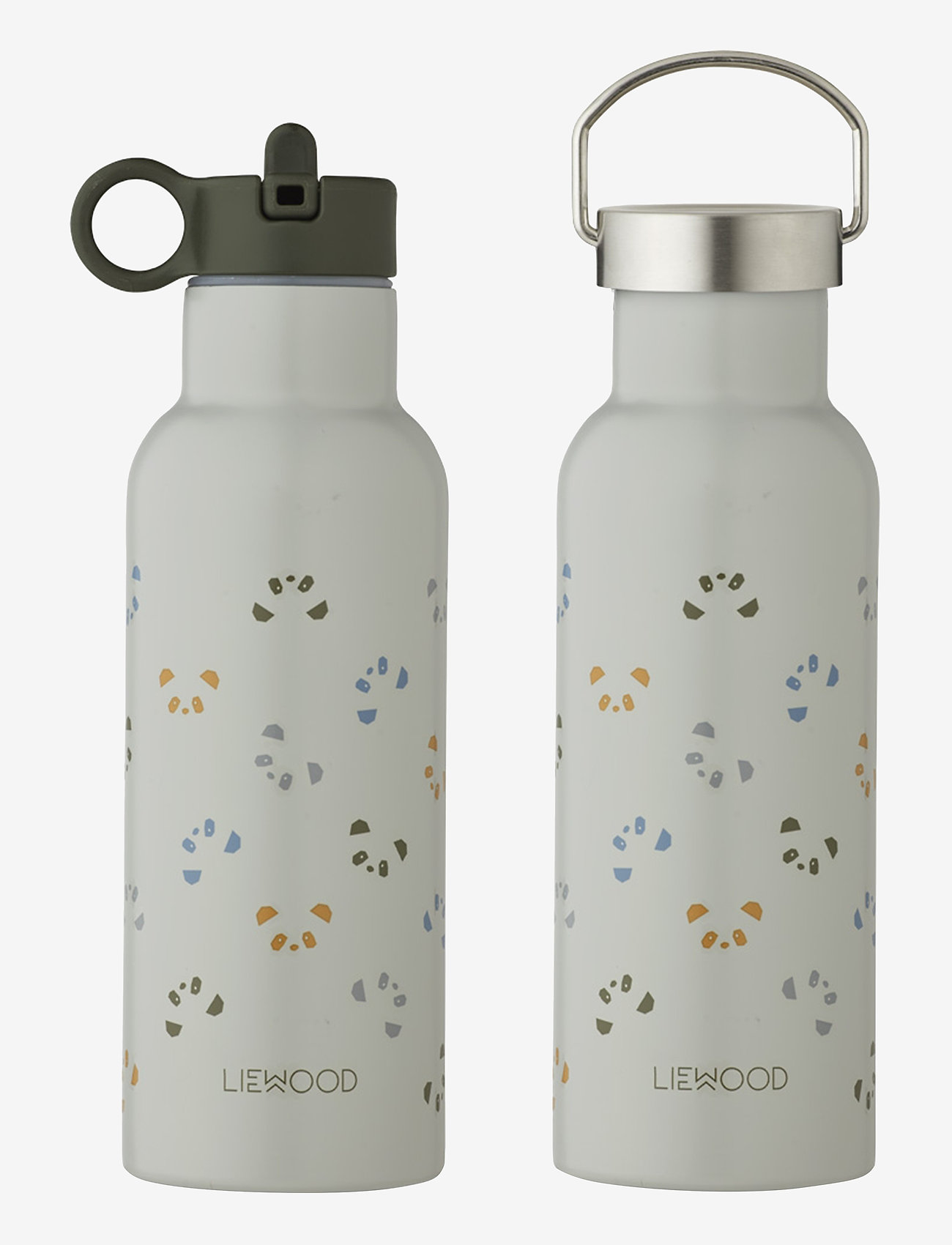 Liewood - Neo water bottle - butelki i termosy - panda dove blue multi mix - 0