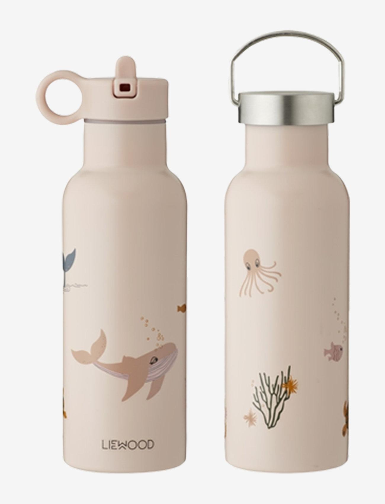 Liewood - Neo water bottle - vannflasker - sea creature rose mix - 0