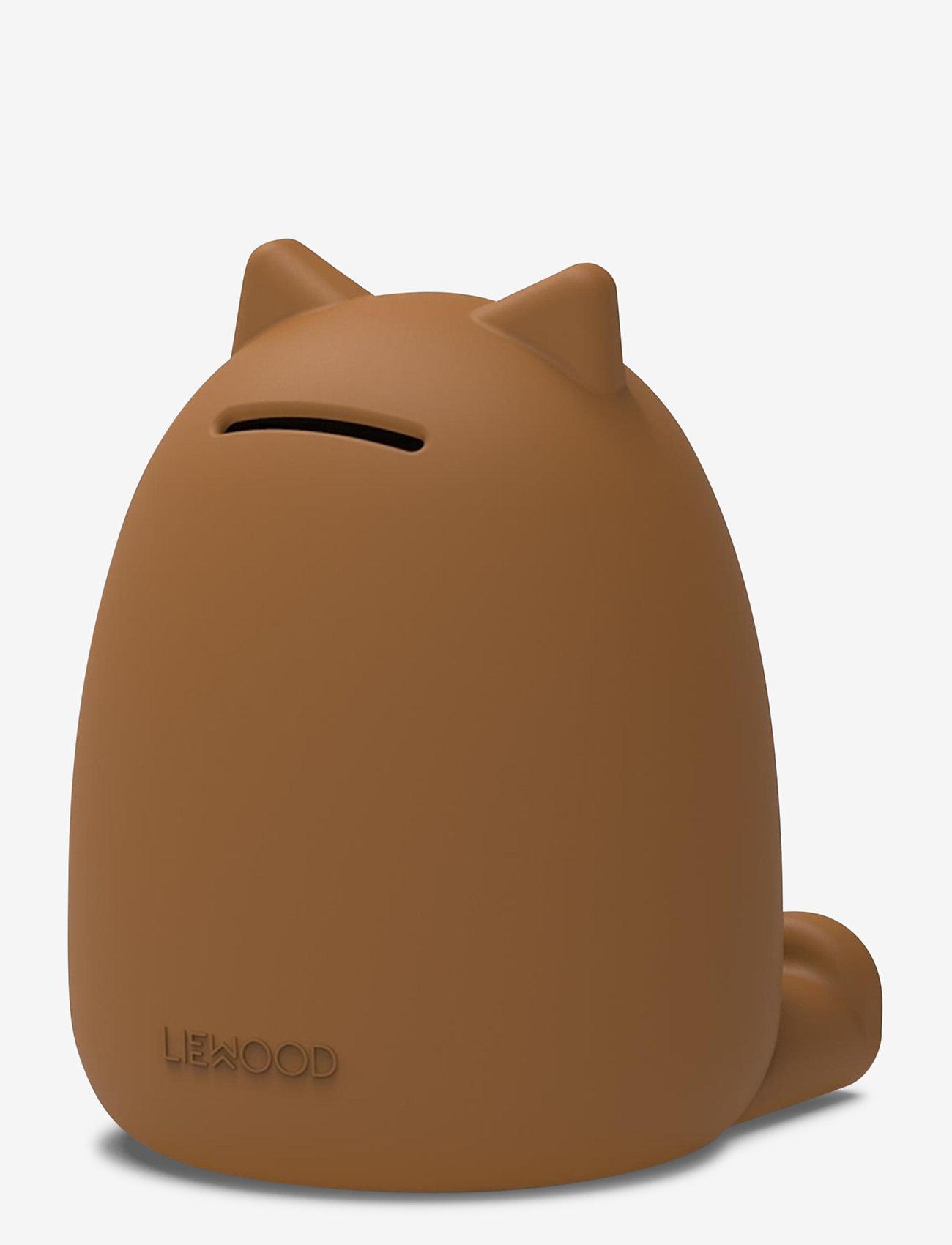 Liewood - Palma money bank - przechowywanie - cat mustard - 1