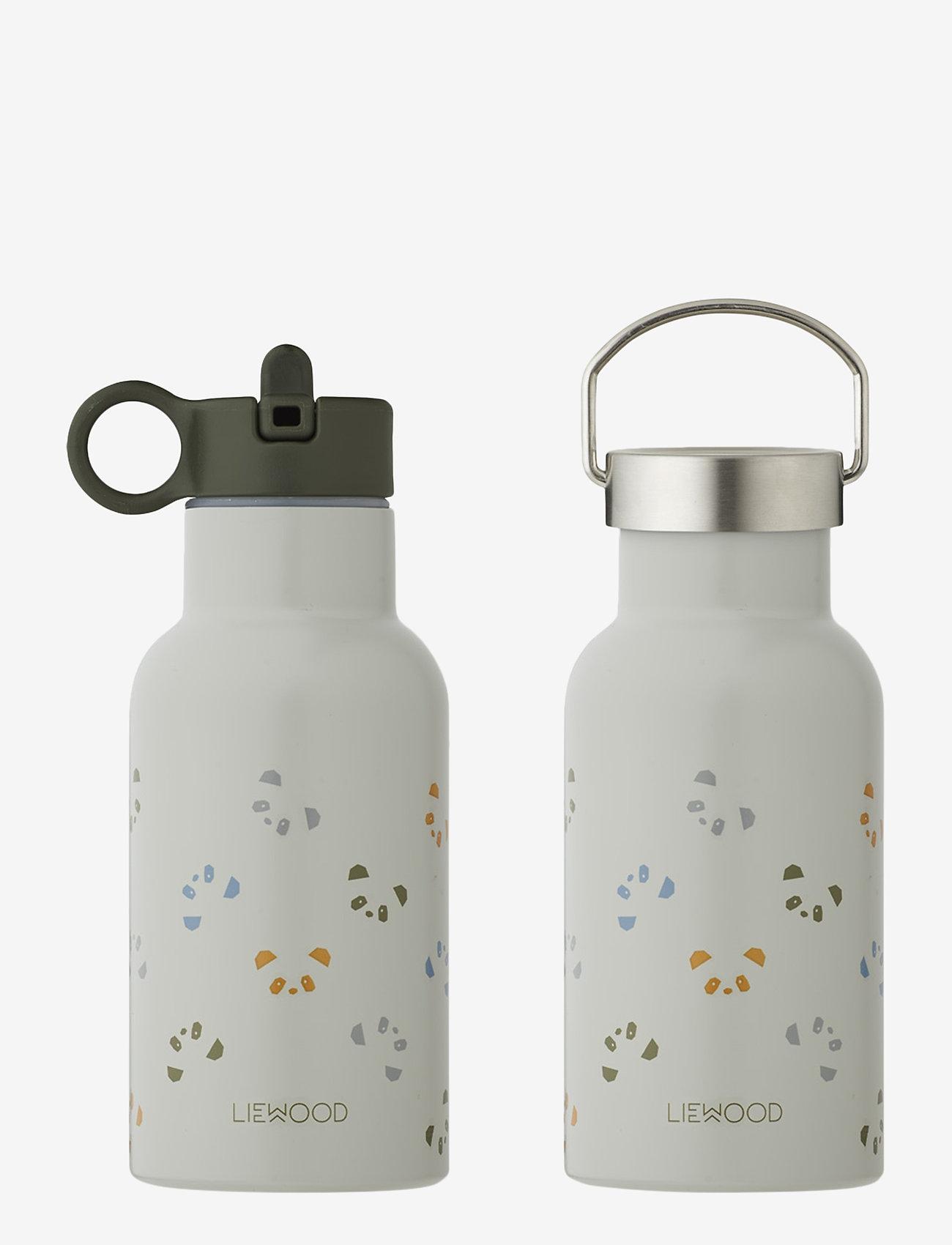 Liewood - Anker water bottle - butelki i termosy - panda dove blue multi mix - 0
