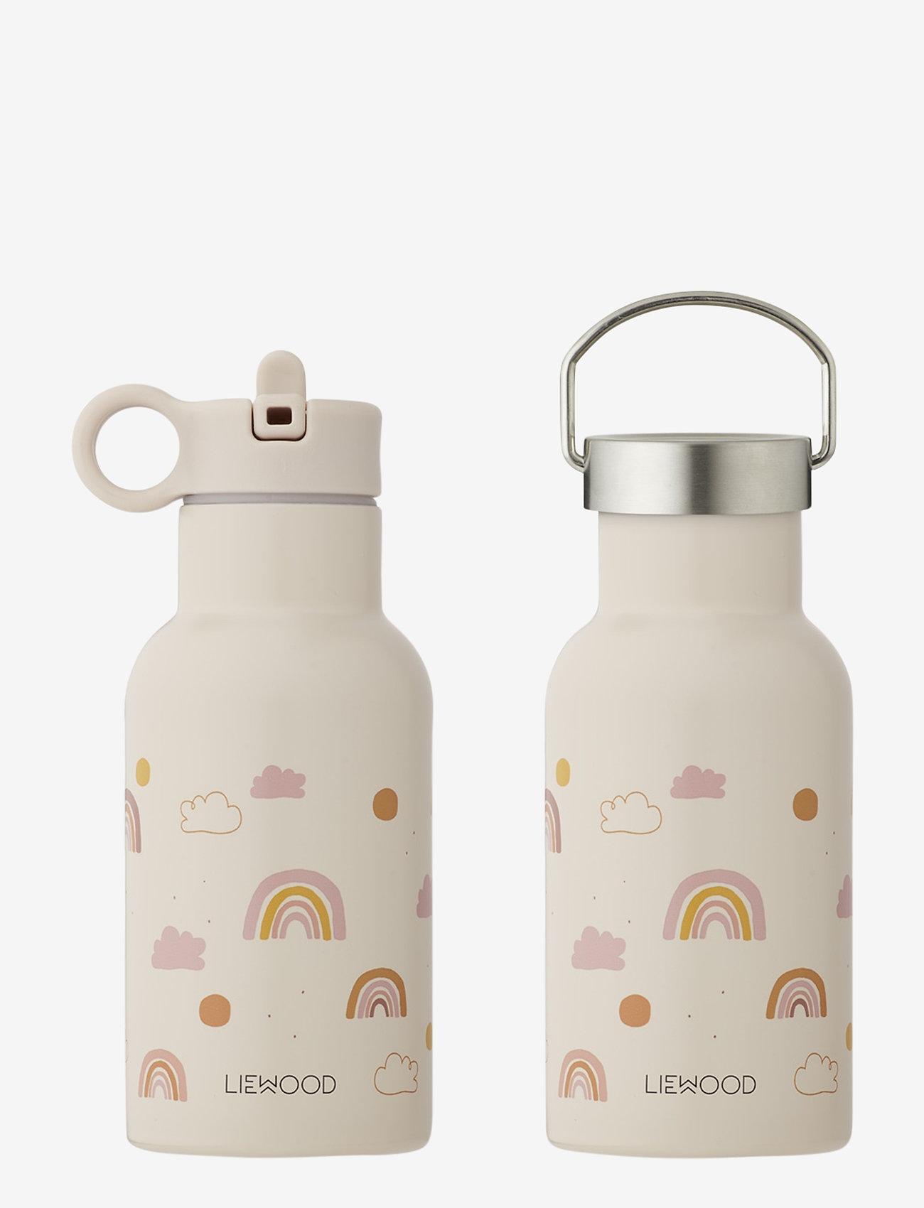 Liewood - Anker water bottle - butelki i termosy - rainbow love mix - 0