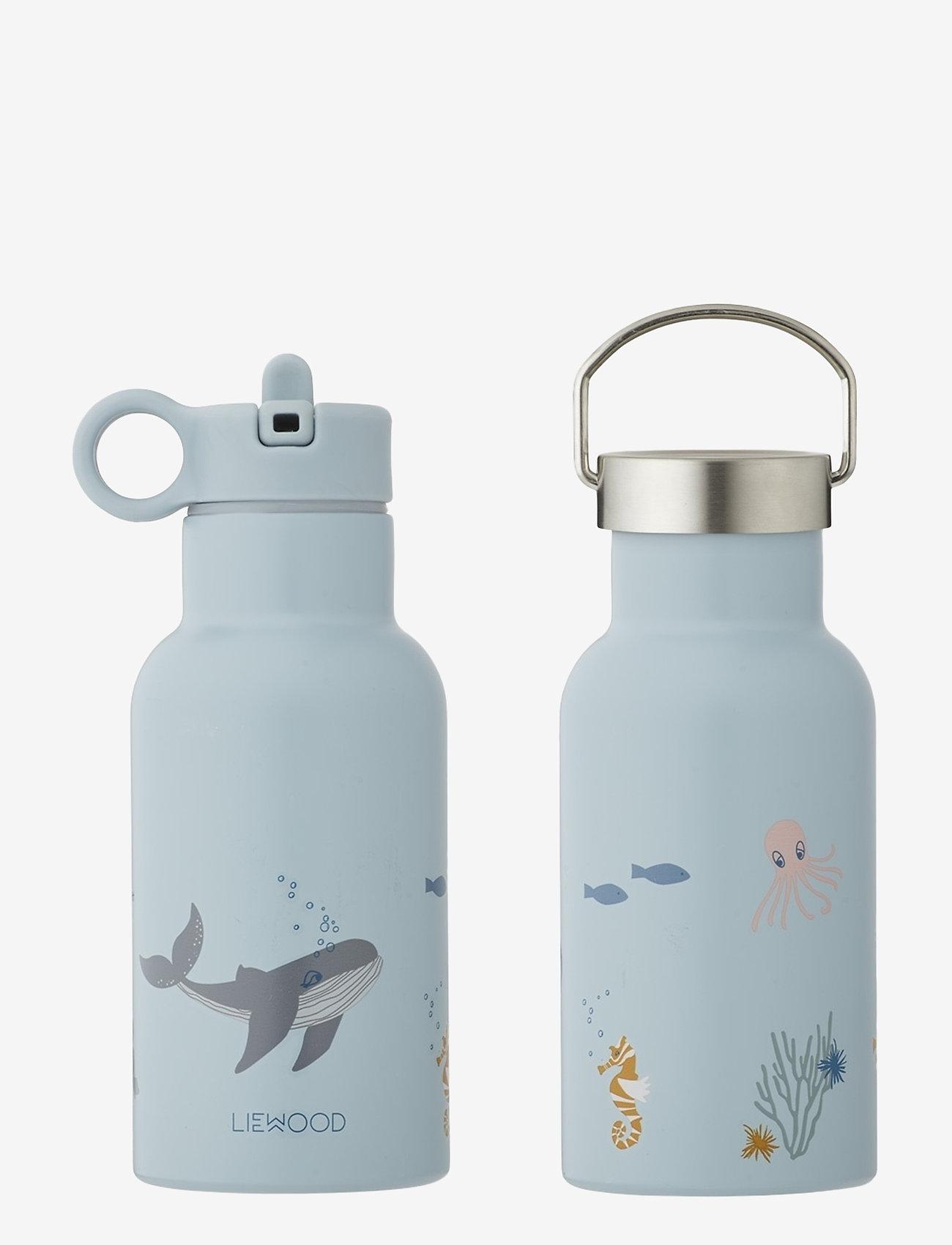 Liewood - Anker water bottle - vannflasker - sea creature mix - 0