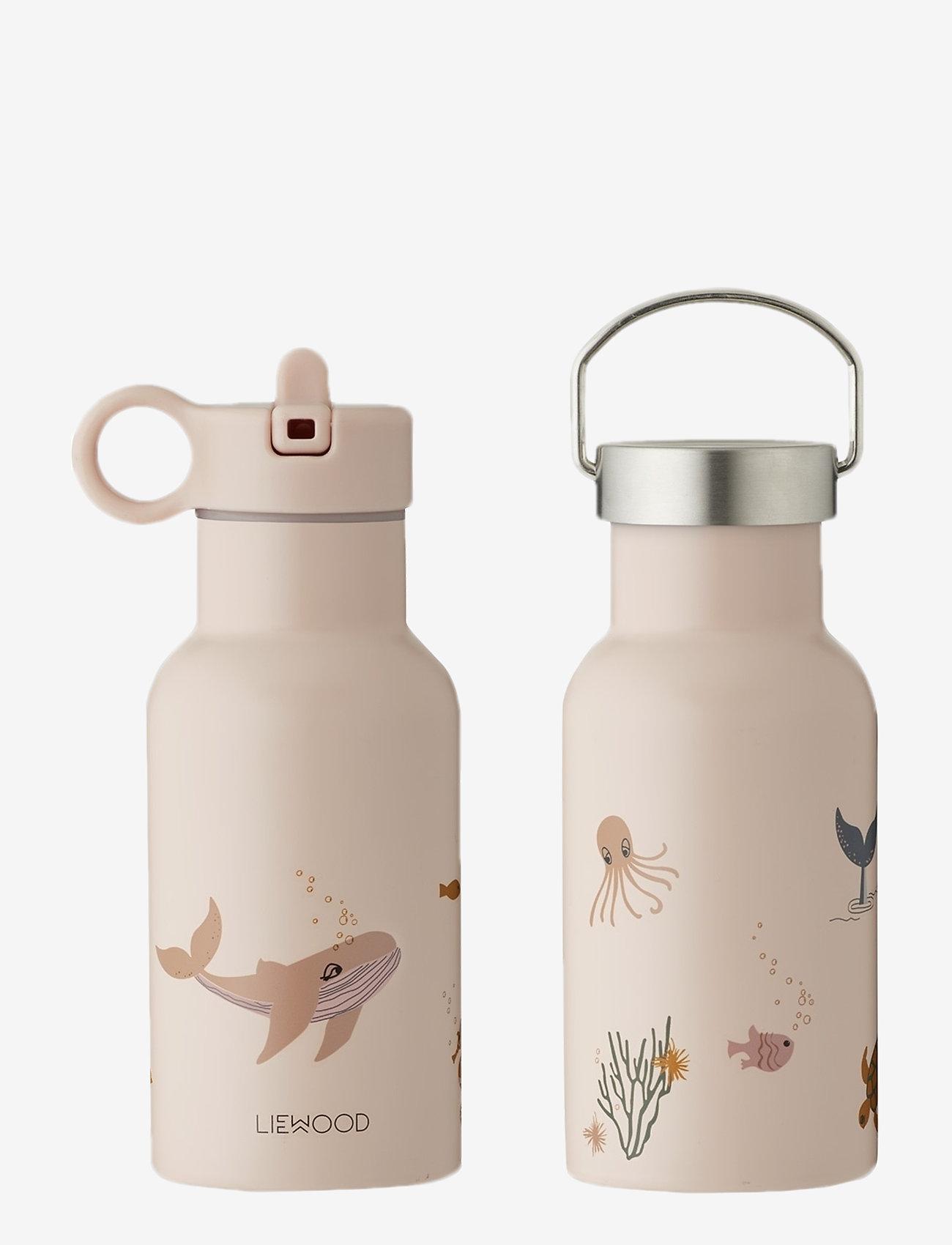 Liewood - Anker water bottle - vannflasker - sea creature rose mix - 0