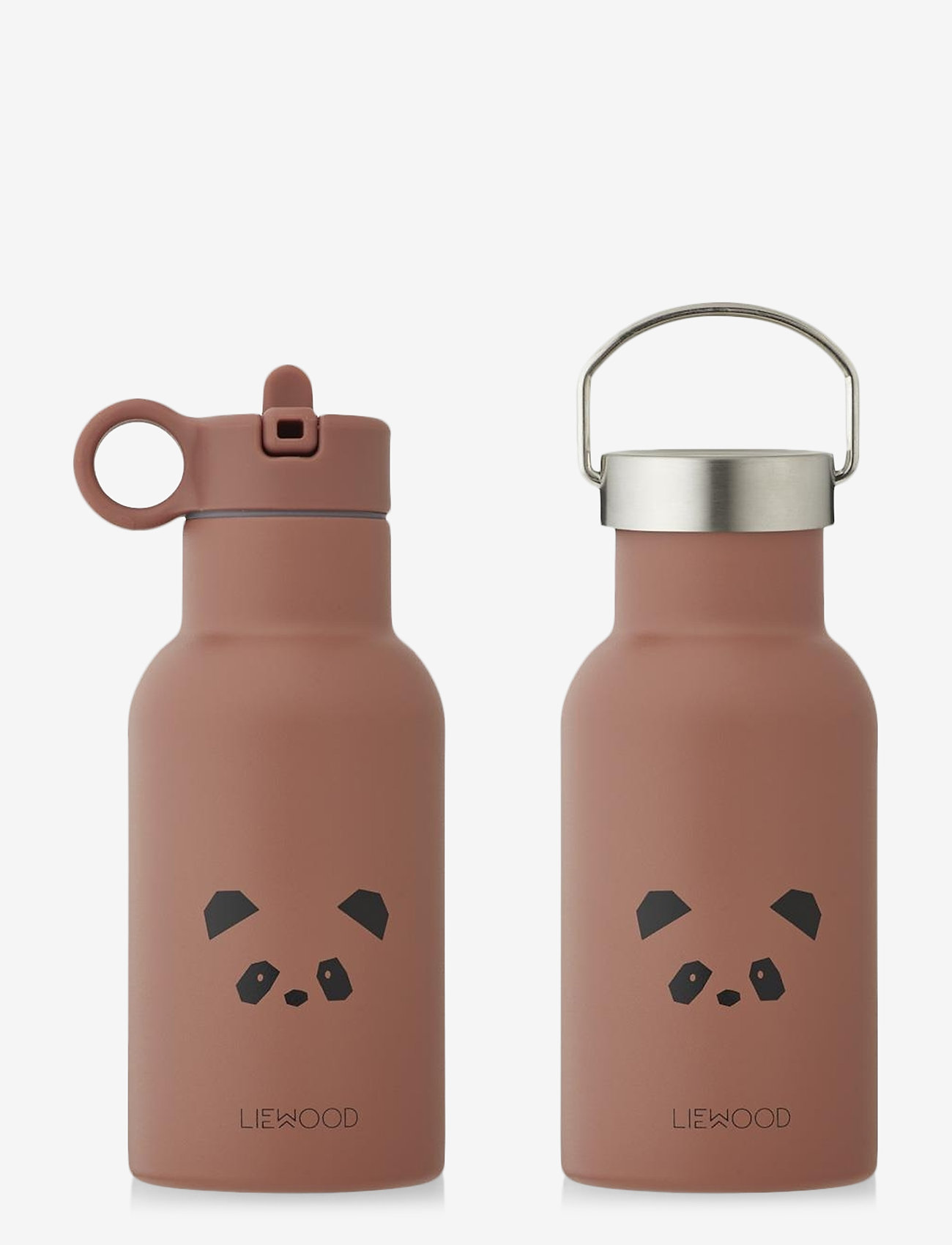 Liewood - Anker water bottle - vannflasker - panda dark rose - 0