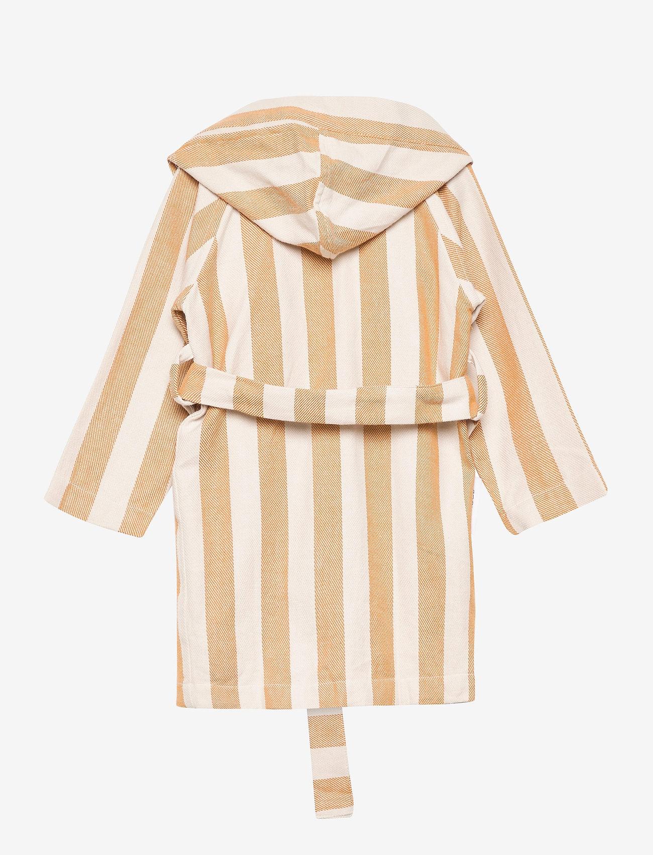 Liewood - Dana bathrobe - szlafroki - y/d stripe - 1