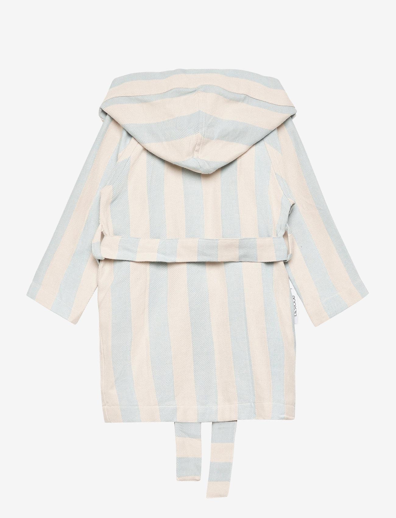 Liewood - Dana bathrobe - bielizna & odzież na noc - y/d stripe - 1