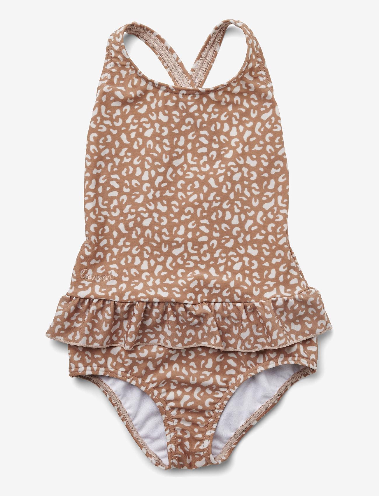 Liewood - Amara swimsuit - swimsuits - mini leo tuscany rose - 0