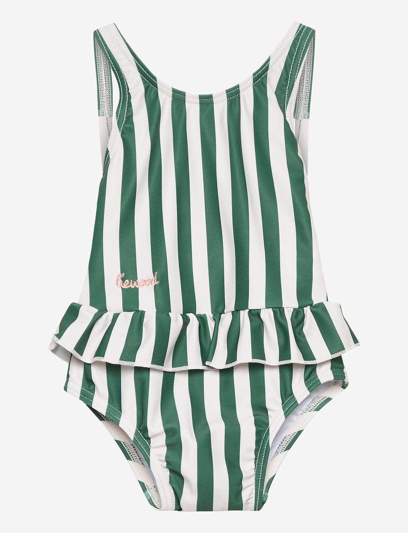 Liewood - Amara swimsuit - swimsuits - stripe - 0