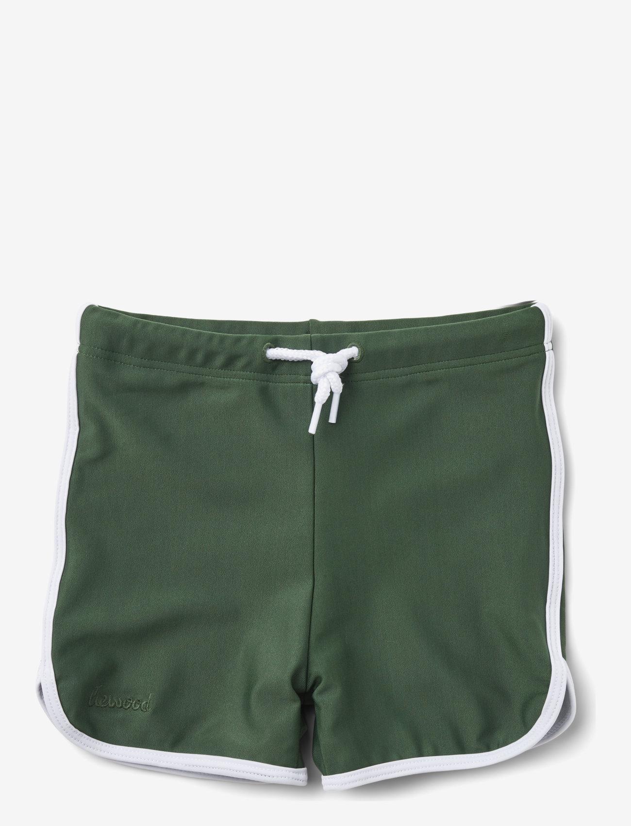 Liewood - Dagger swim pants - spodenki - garden green - 0