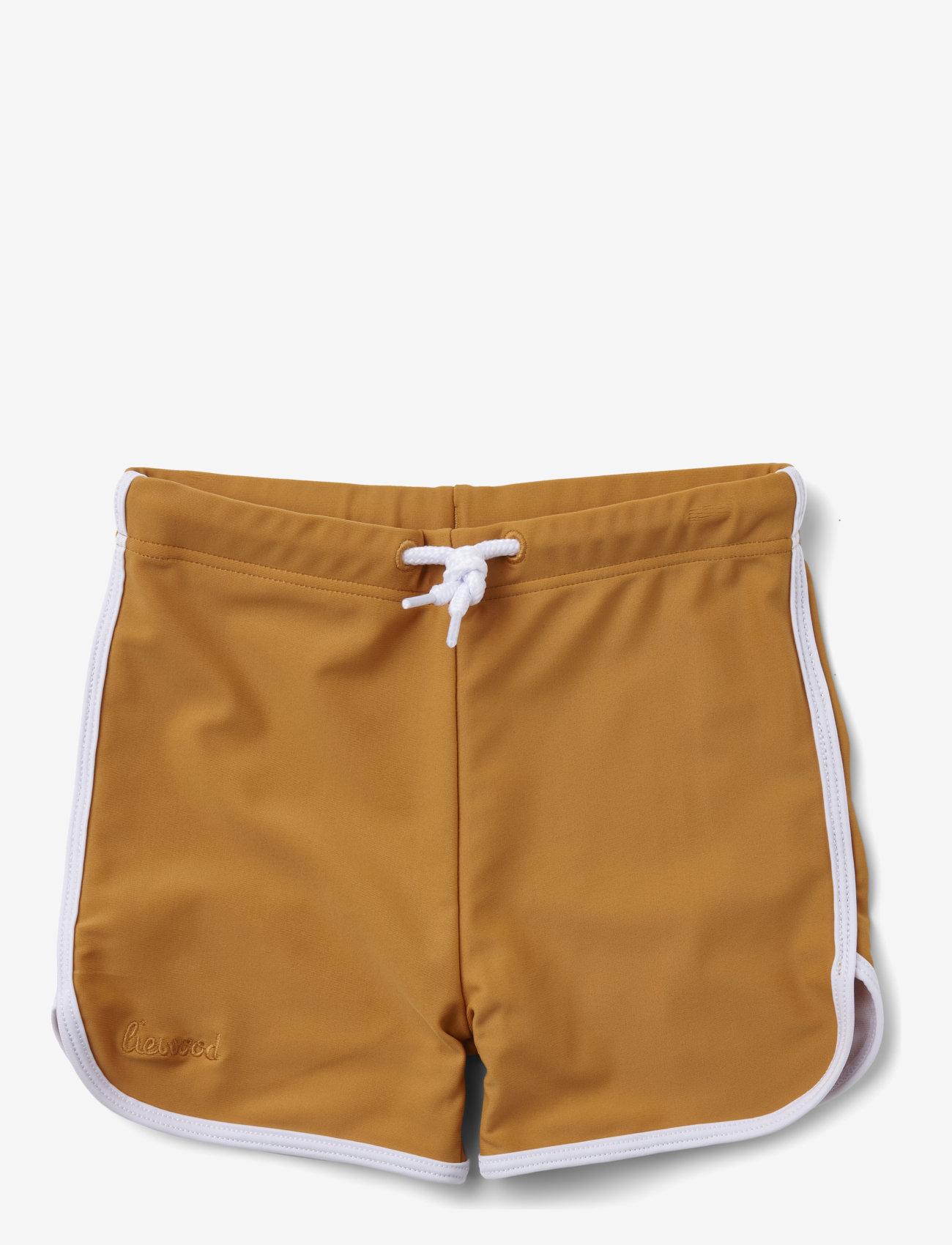 Liewood - Dagger swim pants - badehosen - mustard - 0