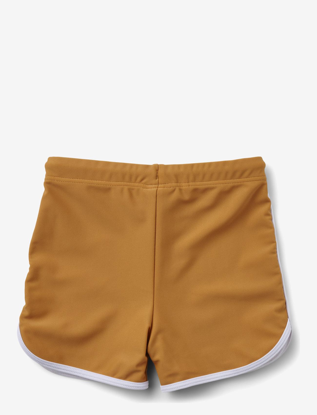 Liewood - Dagger swim pants - badehosen - mustard - 1