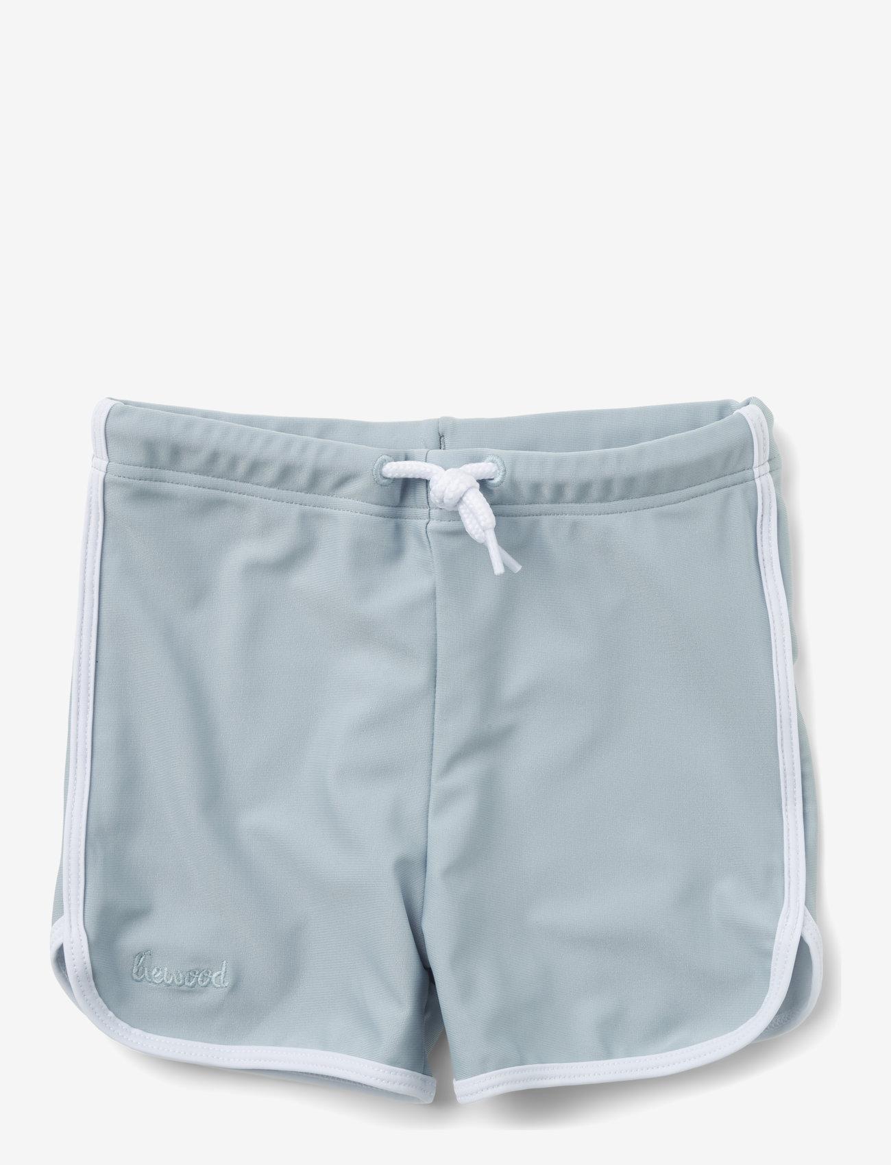 Liewood - Dagger swim pants - badehosen - sea blue - 0