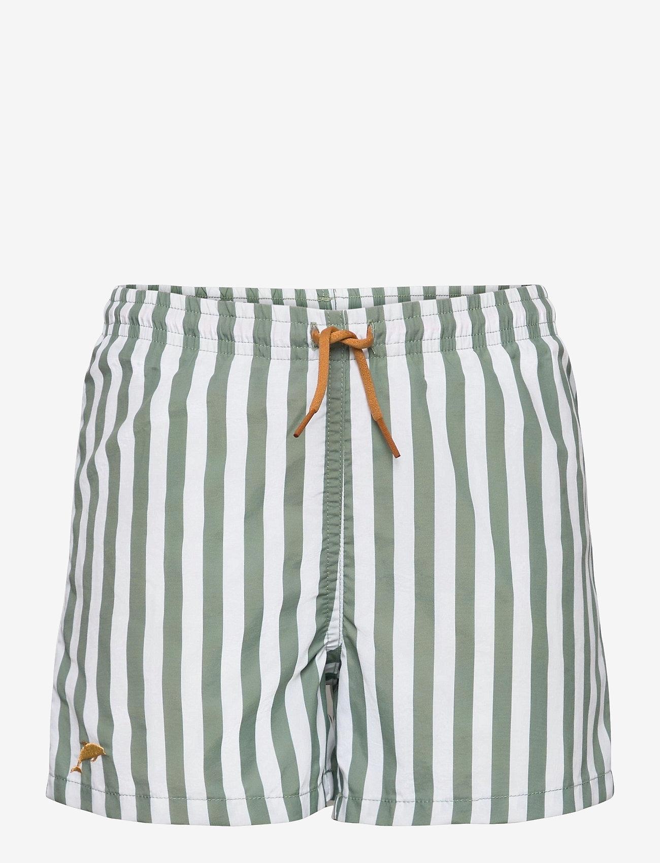 Liewood - Duke board shorts - badehosen - stripe - 0
