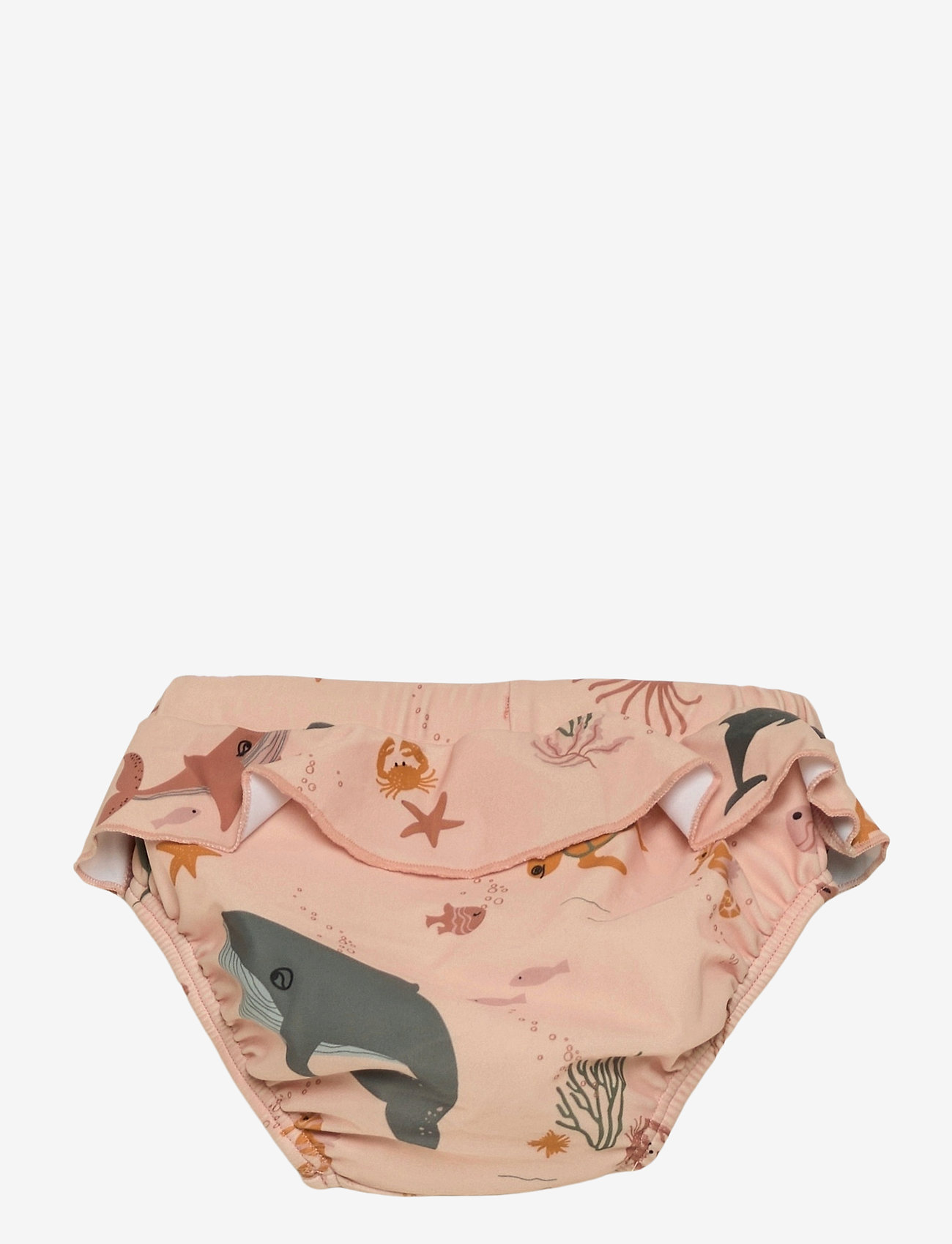 Liewood - Elise baby swim pants - odzież - sea creature rose mix - 1