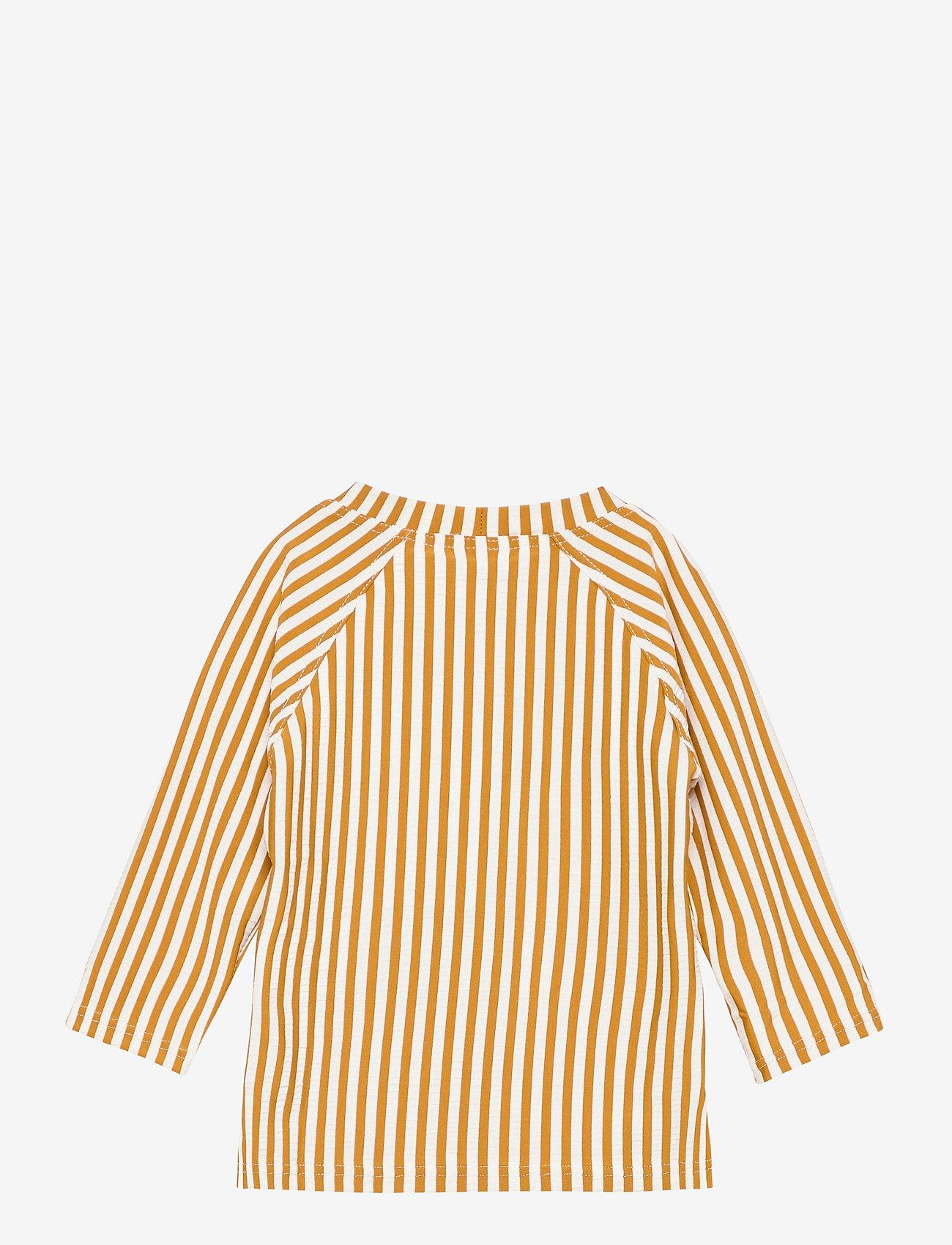 Liewood - Noah swim tee seersucker - uv-clothing - y/d stripe - 1