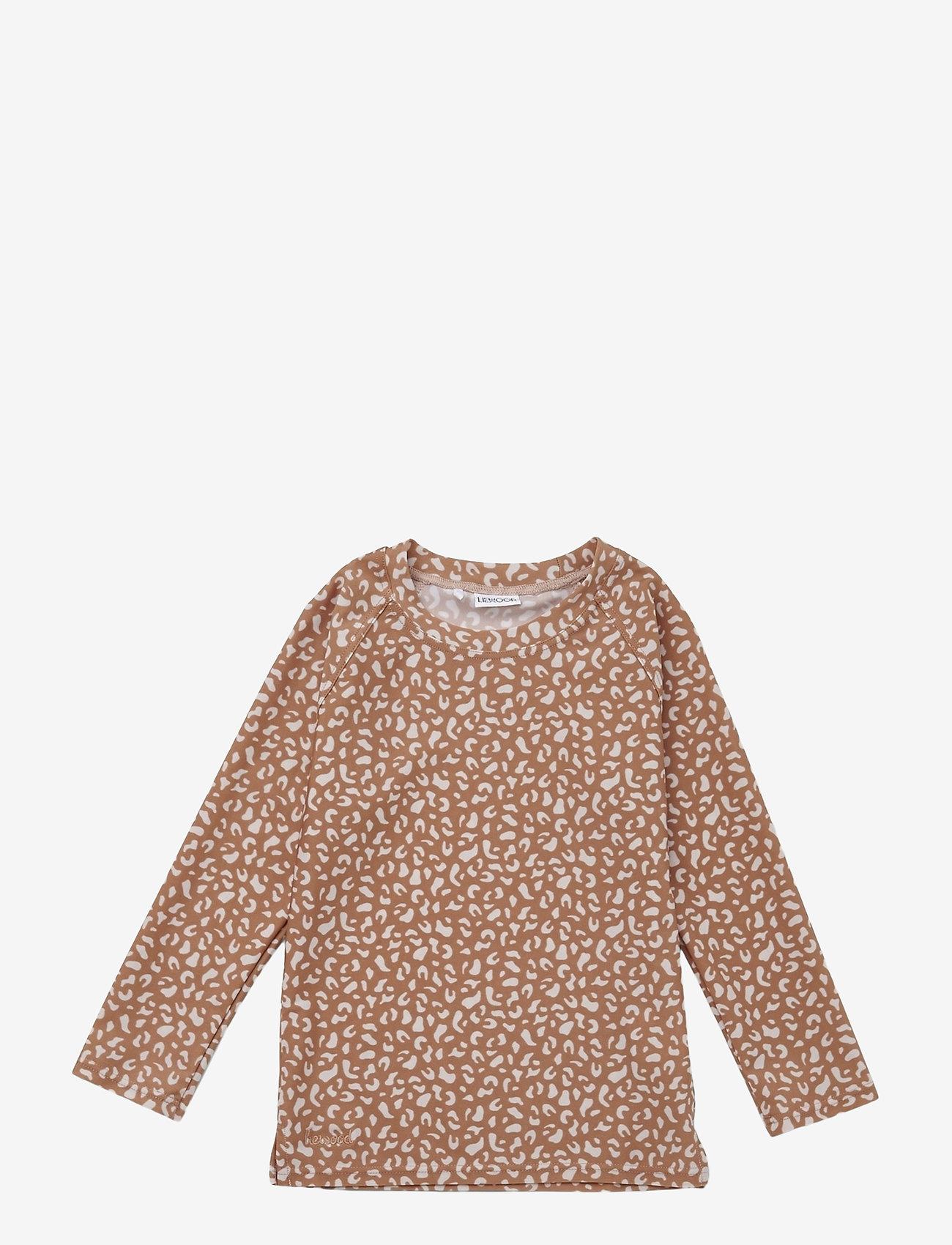 Liewood - Noah swim tee - uv-clothing - mini leo tuscany rose - 0