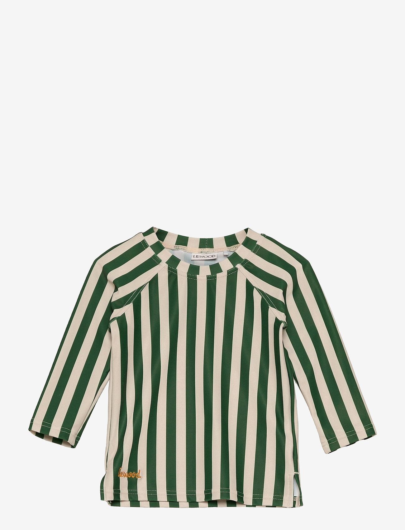 Liewood - Noah swim tee - uv-clothing - stripe - 0