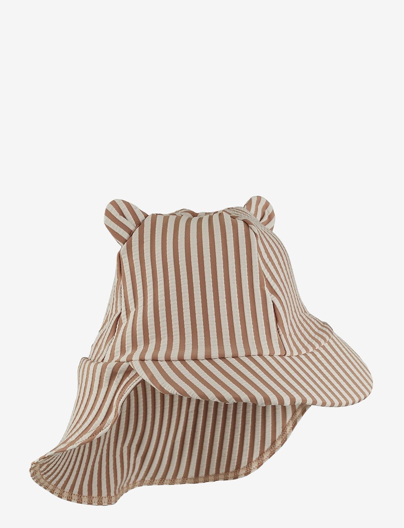Liewood - Senia sun hat seersucker - solhat - y/d stripe - 0