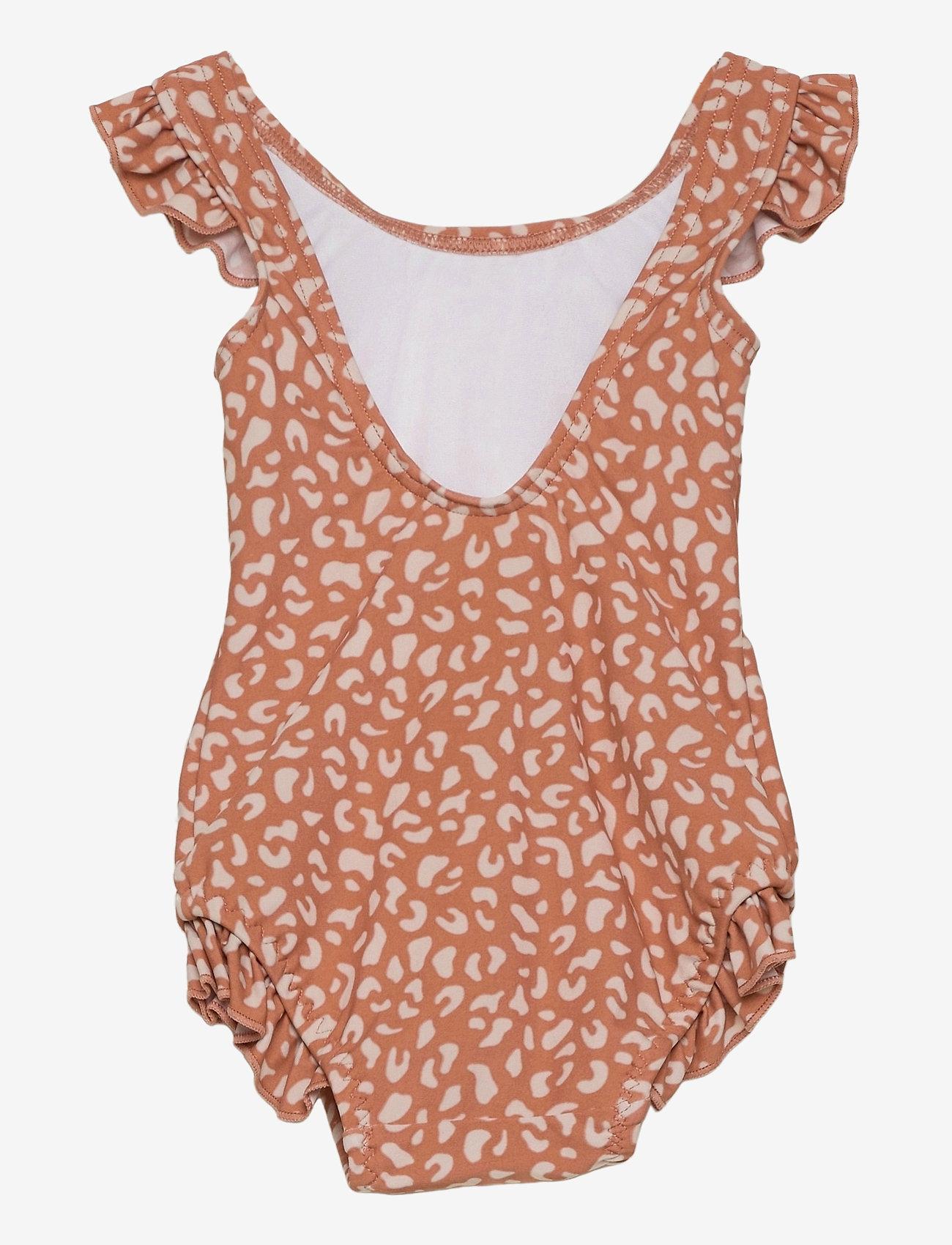 Liewood - Tanna swimsuit - swimsuits - mini leo tuscany rose - 1