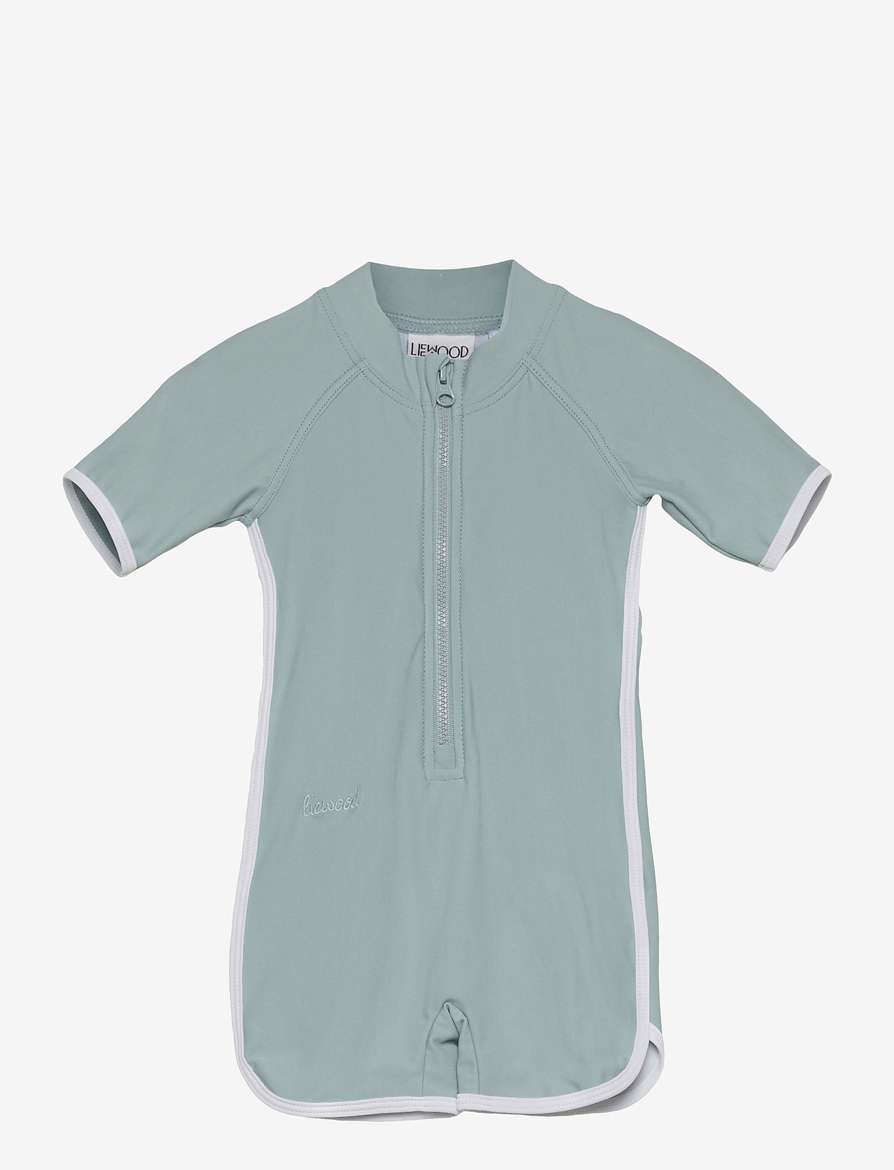 Liewood - Triton swim jumpsuit - swimsuits - sea blue - 0