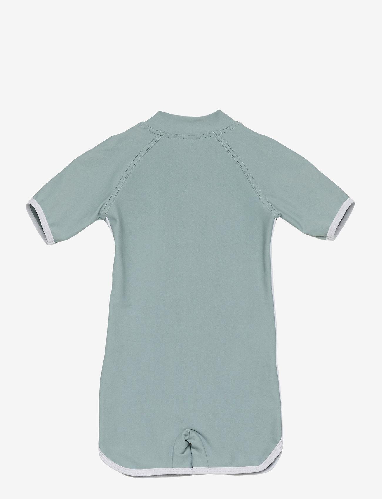 Liewood - Triton swim jumpsuit - swimsuits - sea blue - 1