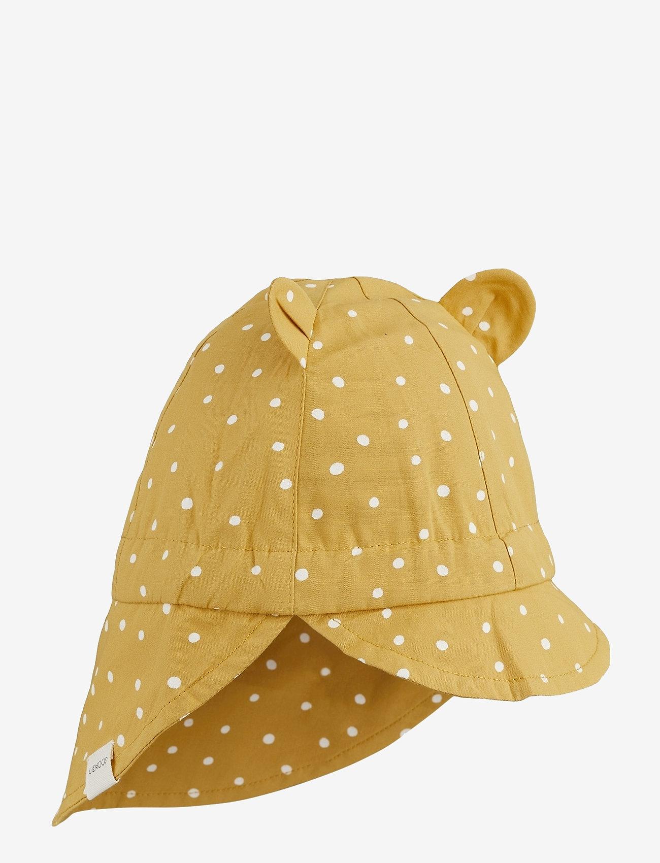 Liewood - Gorm sun hat - solhat - confetti yellow mellow mix - 0